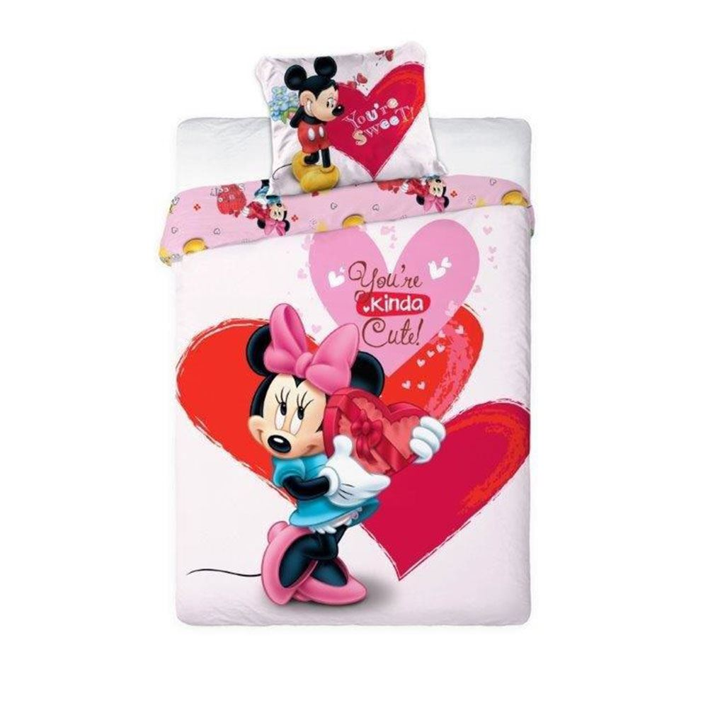 MINNIE-MOUSE-DUVET-COVERS-KIDS-GIRLS-BEDDING-SINGLE-DOUBLE-JUNIOR thumbnail 22