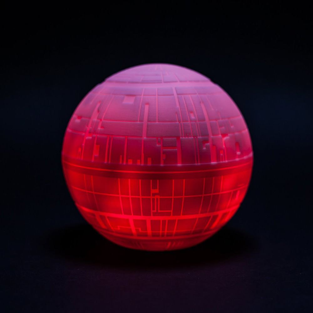 Childrens colour changing lights - Star Wars Death Star Illumi Mate Colour Changing Led Light Childrens Lighting