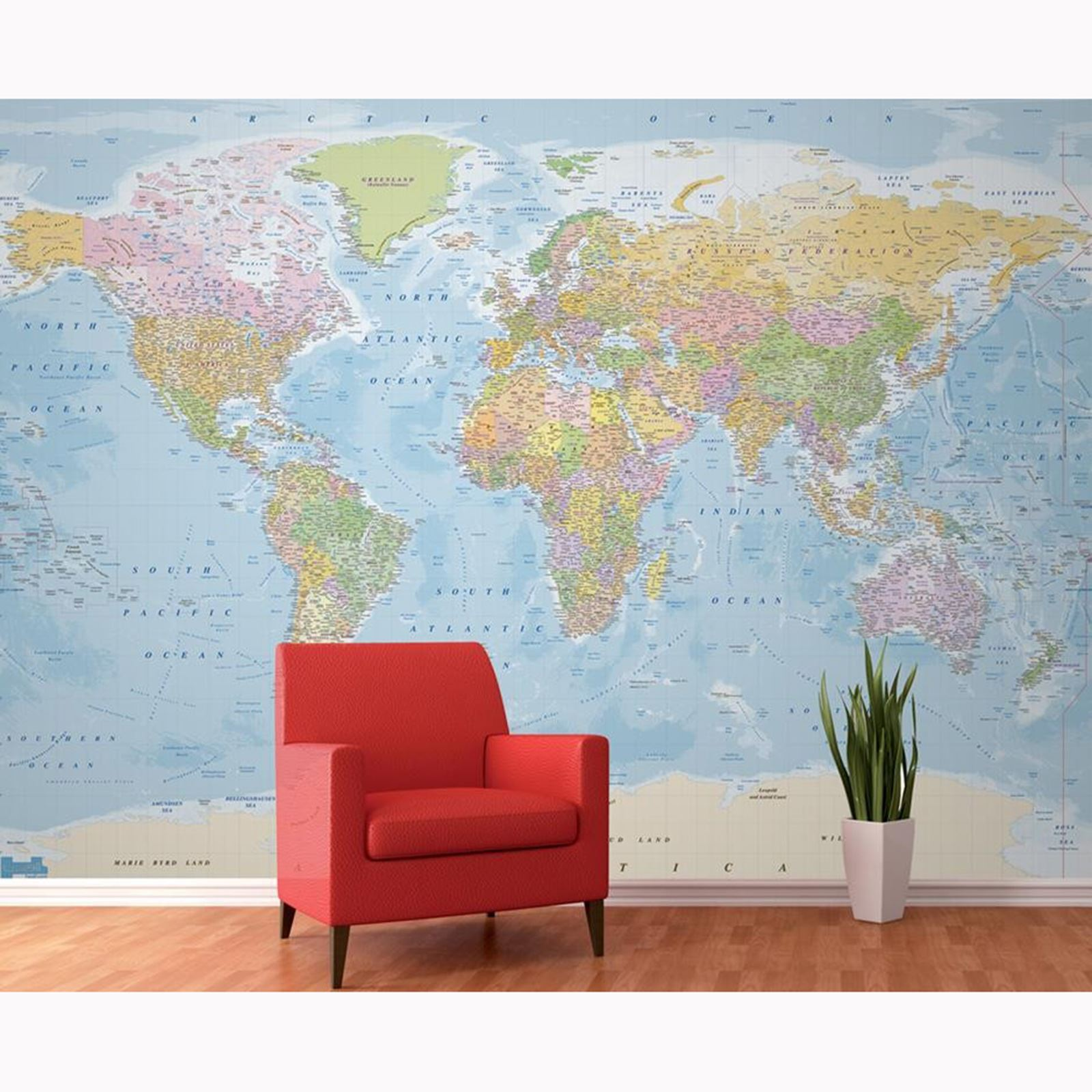 World map wall murals 4 designs available feature wall office world map wall murals 4 designs available feature amipublicfo Gallery