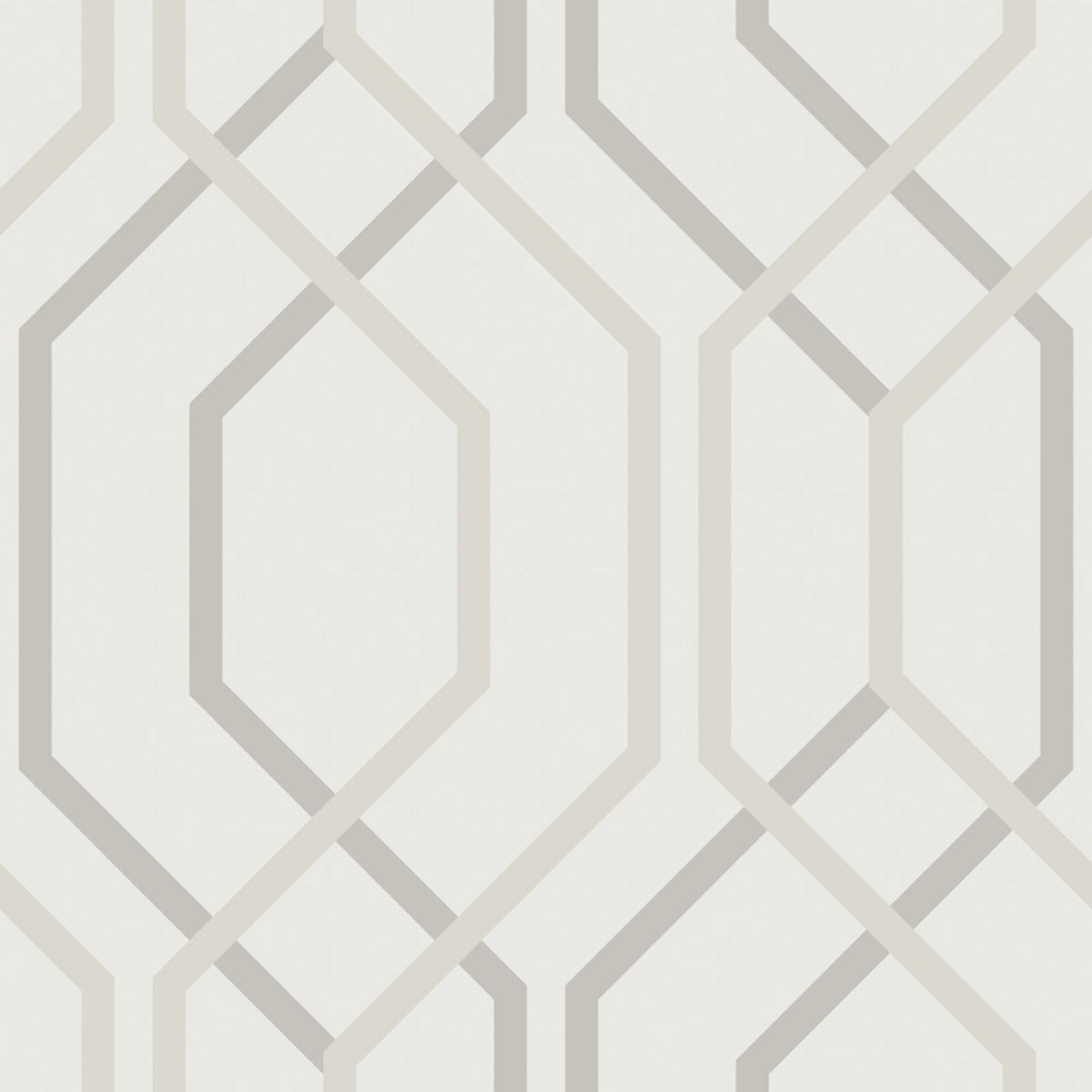 Arthouse Artemis Geometric Wallpaper Feature Wall Decor Mocha Gold