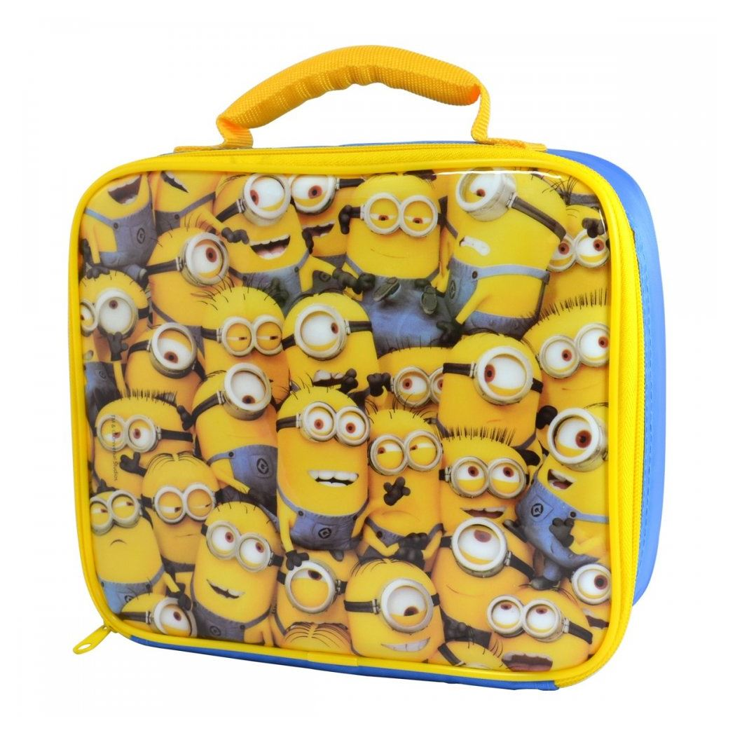 Despicable Me Minions Insulated Lunch Bag New Box
