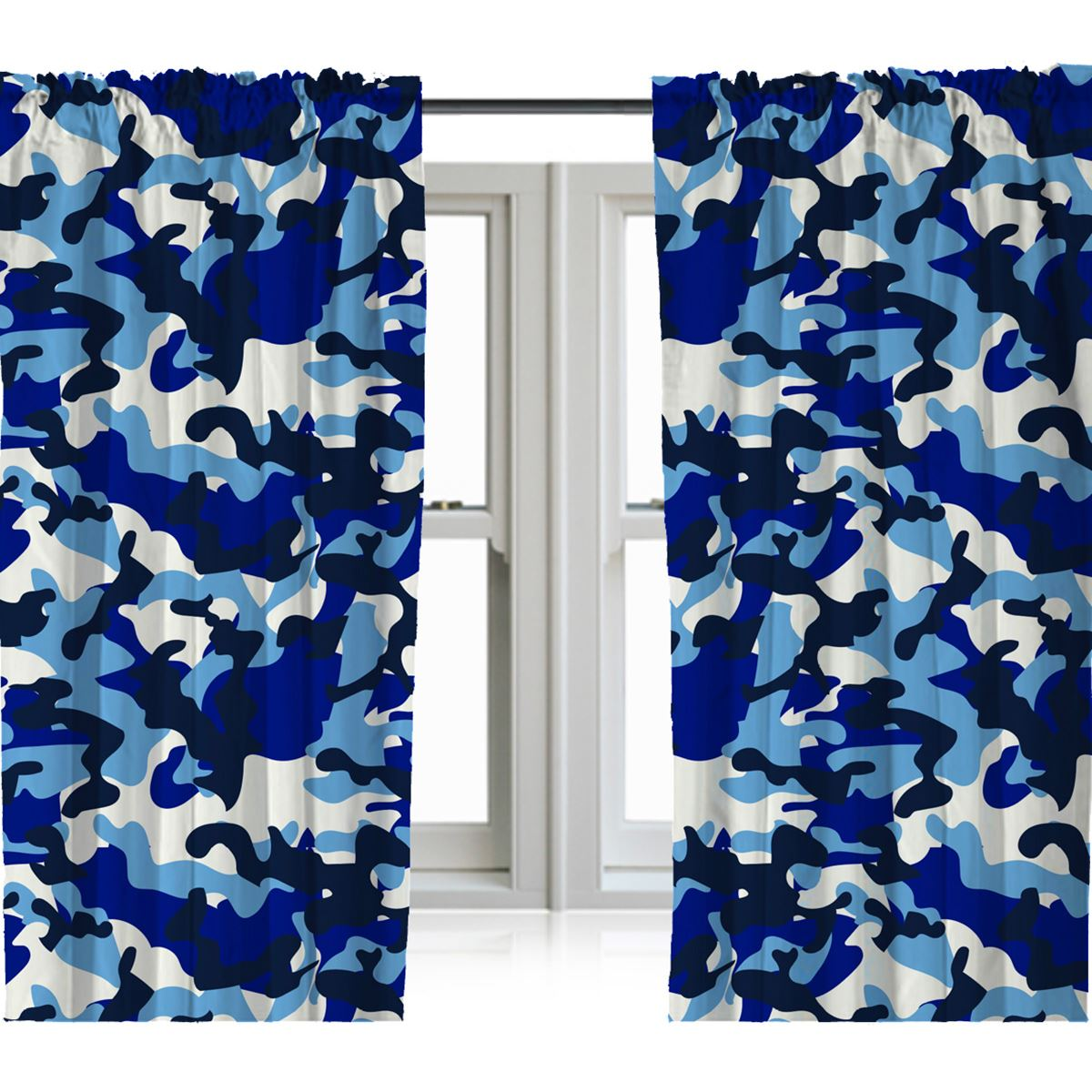 Boys Kids Bedroom Curtains 54 Quot Amp 72 Quot Army Football