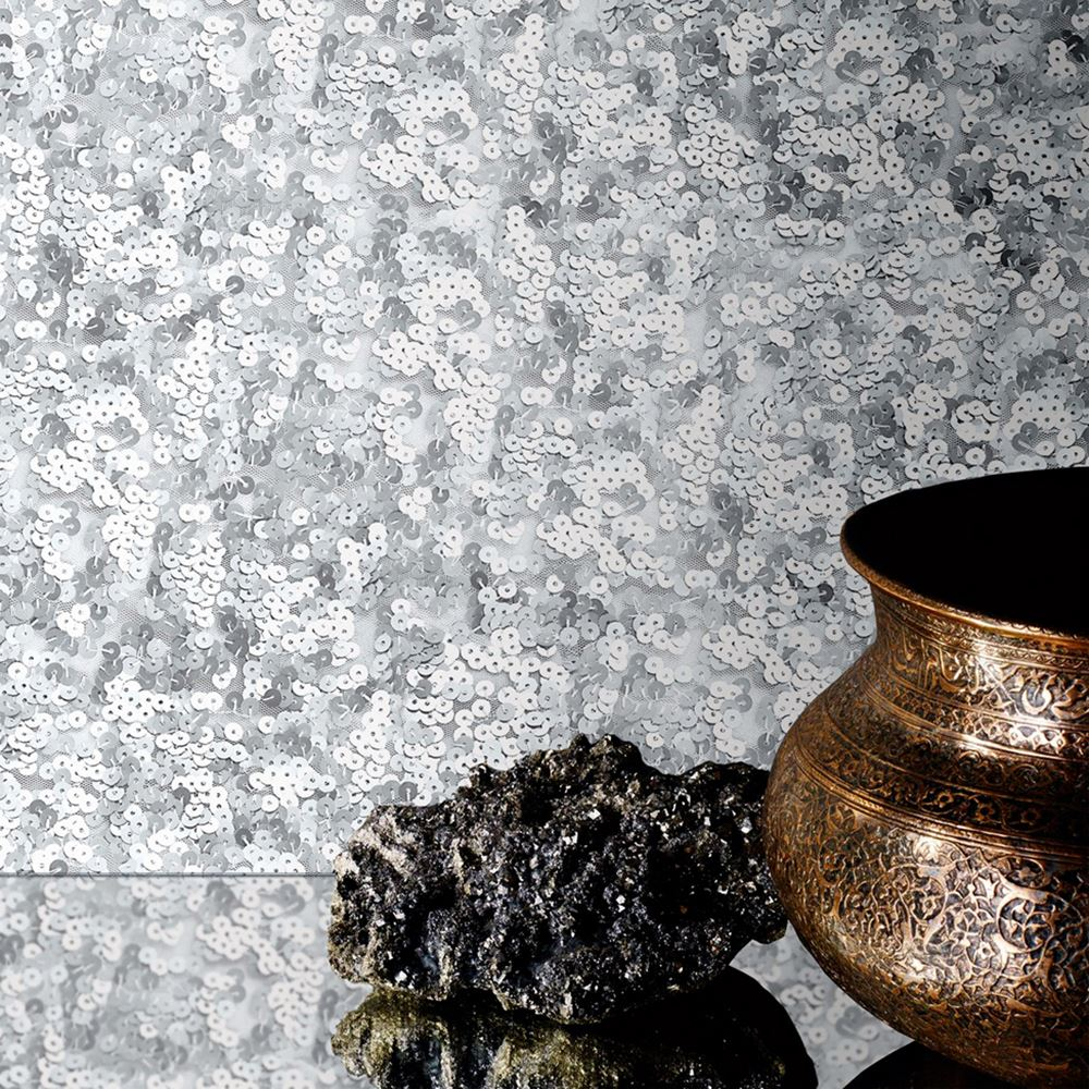 Muriva Sparkle Wallpaper Bronze: SPARKLE GLITTER SHIMMER METALLIC