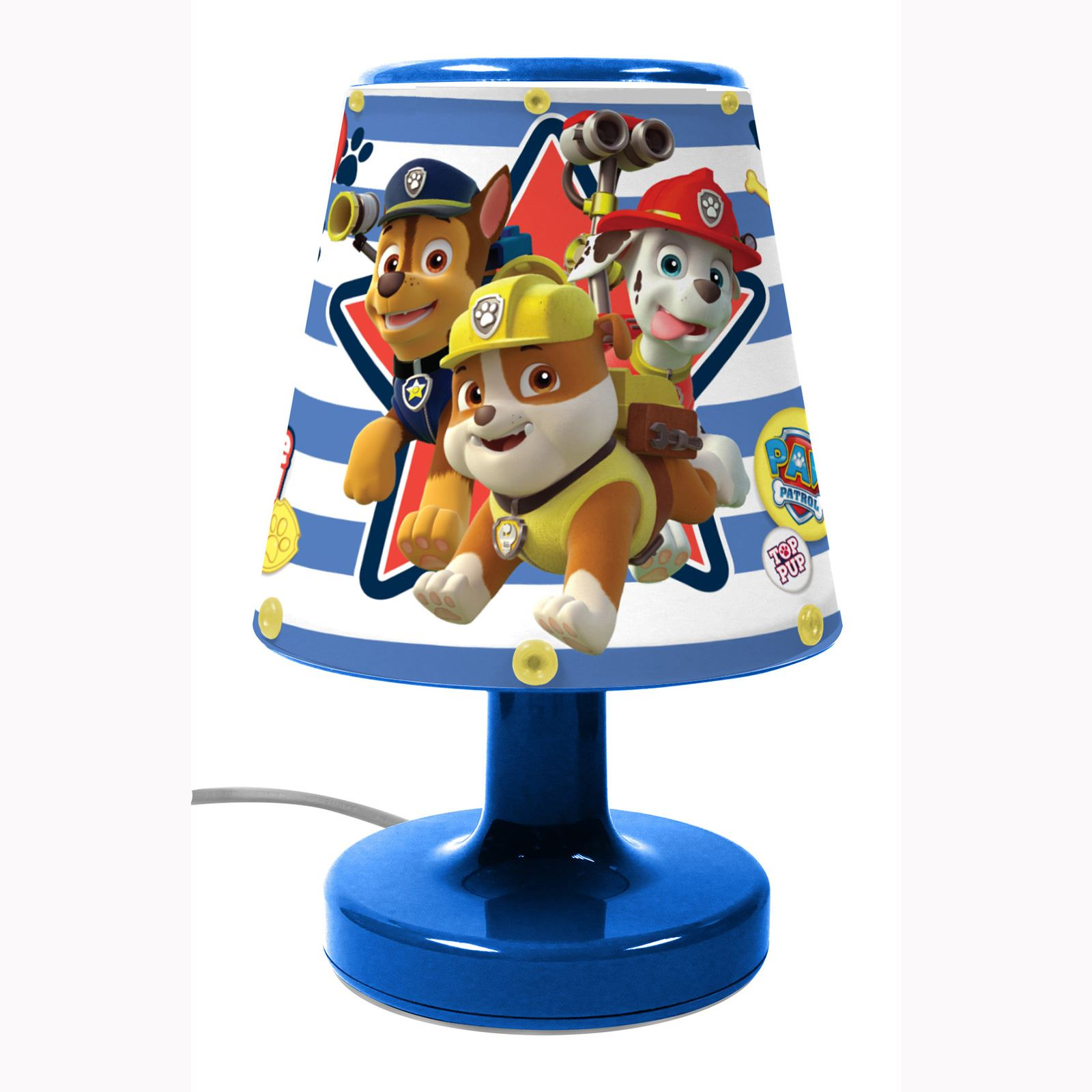 DISNEY & CHARACTER KIDS BEDROOM BEDSIDE LAMPS FOR BOYS AND GIRLS