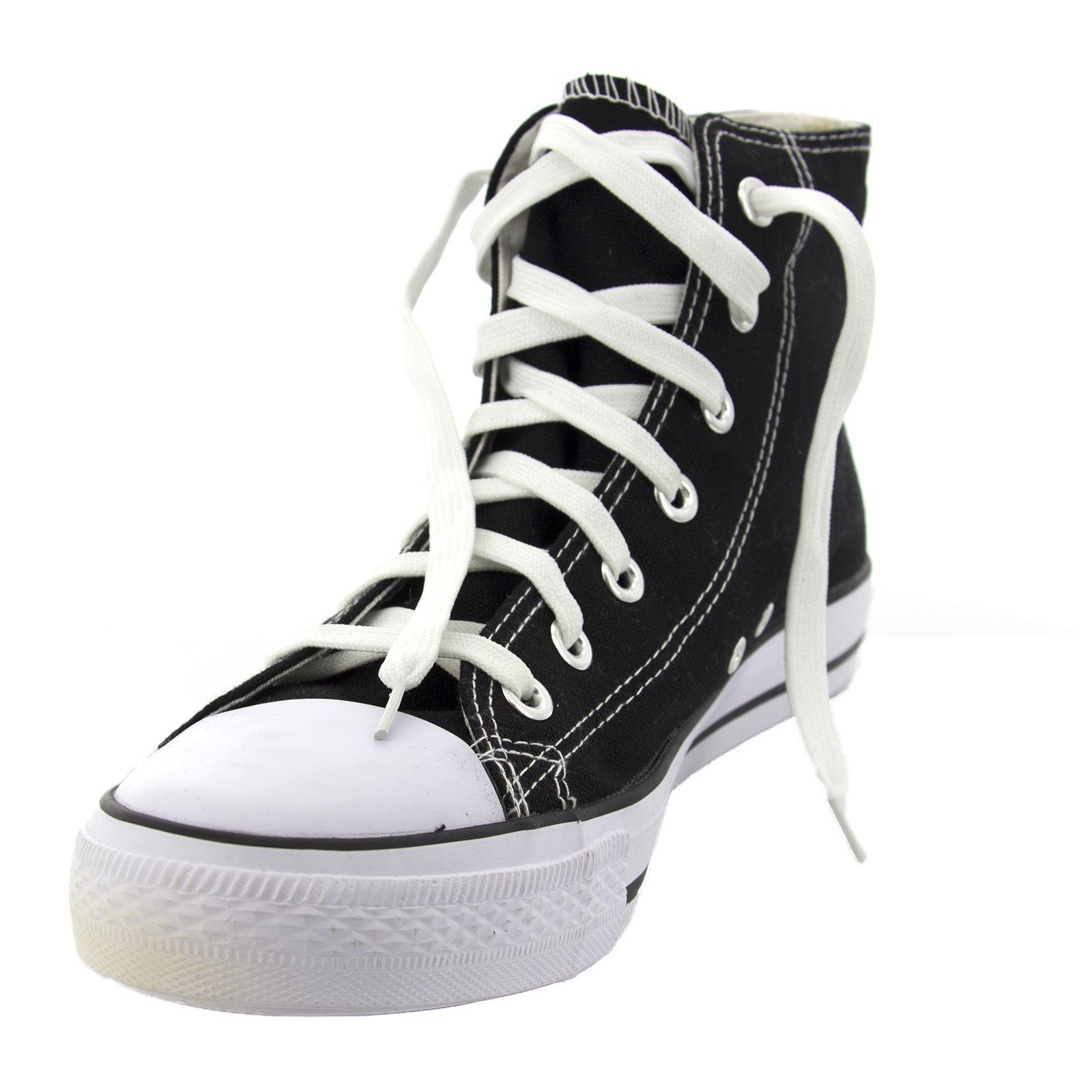 Scarpe da Ginnastica Uomo Donna Sneakers Alte Casual Comode Vari Colori Nero 43 bxRyZy