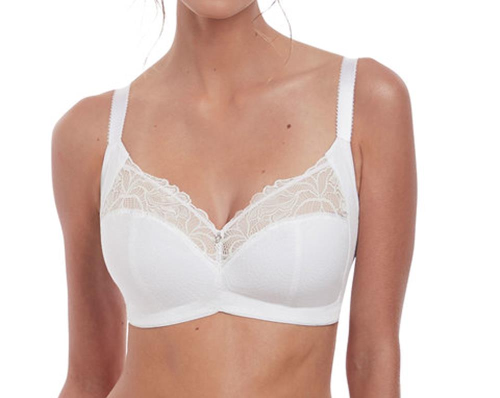 WHE Fantasie Memoir FL3022 Non-wired Soft Cup Bra White CS
