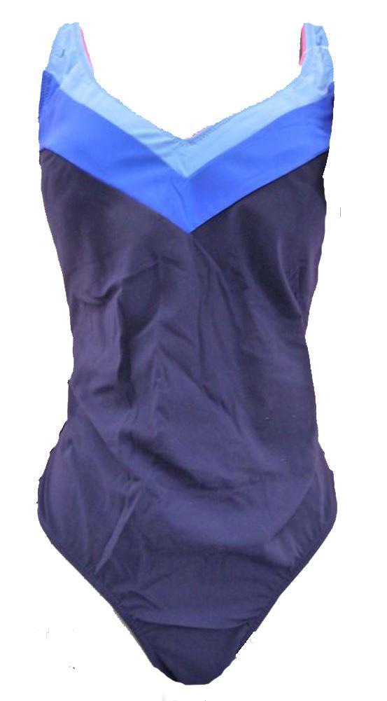 TRIUMPH POWER SHAPER HK 550 SWIMMING COSTUME BLUE 14