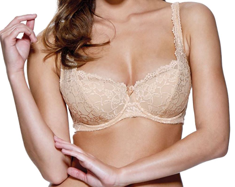 CHARNOS EVERYDAY SUPERFIT  FULL CUP BRA WHITE BRULEE 34-36-38  BNWT