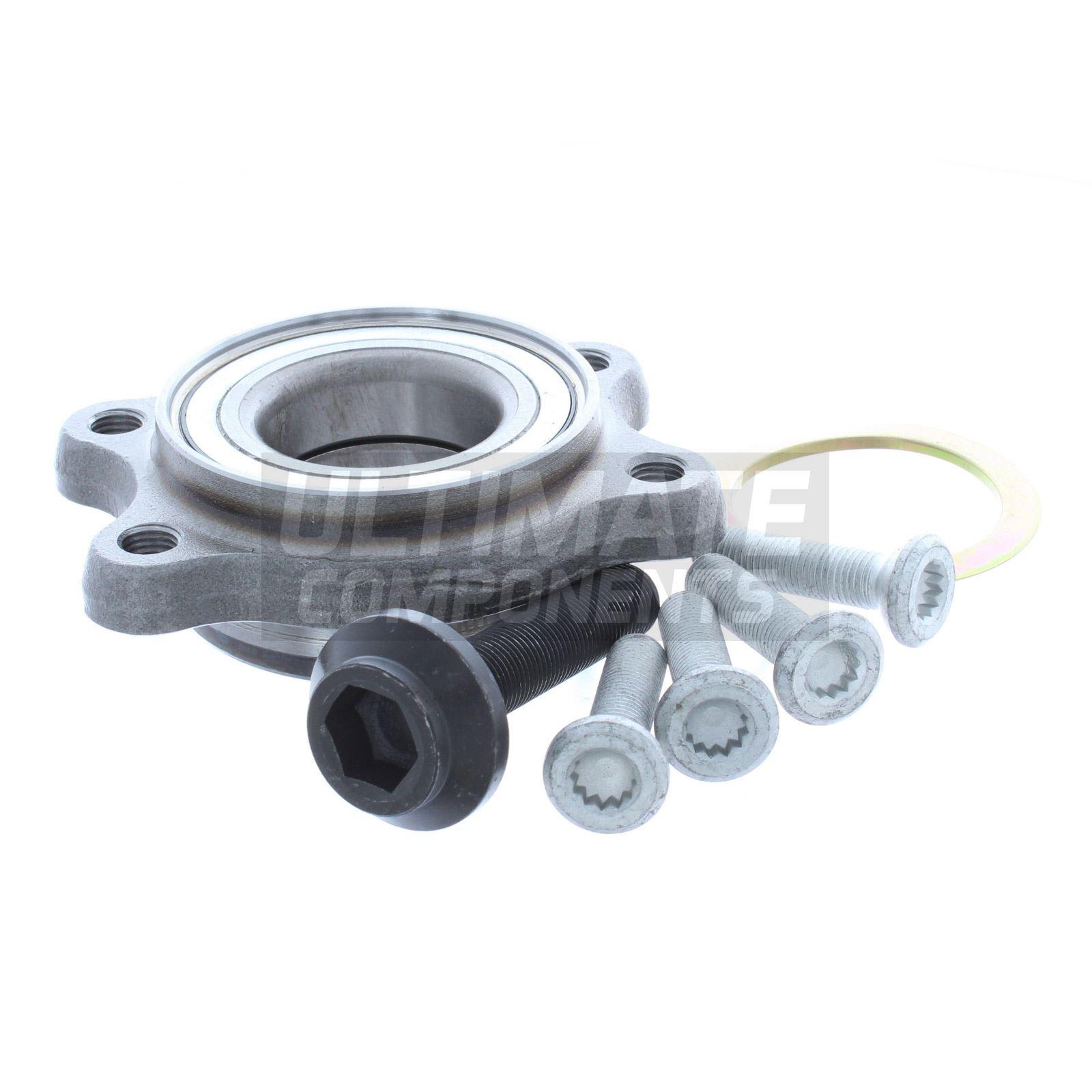 Volkswagen Phaeton Saloon 6//2003-5//2014 ABS Rear Wheel Hub Bearing Kits With ASB
