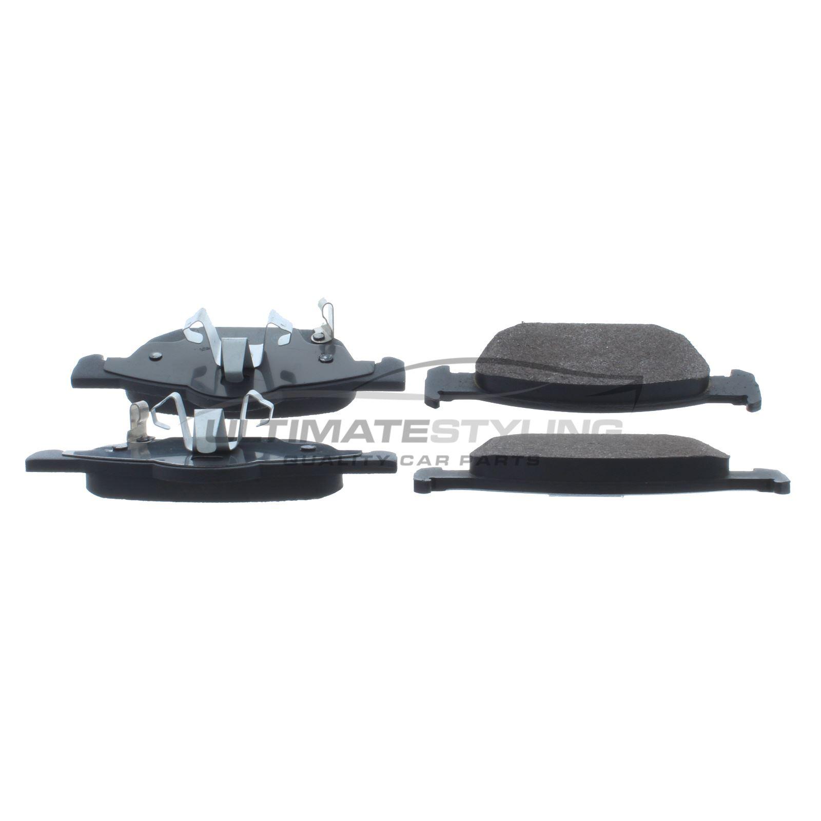 Honda Accord Mk8 Estate 7//2008-2015 2.0 2.2 Front Brake Pads Set W155-H63-T17.8