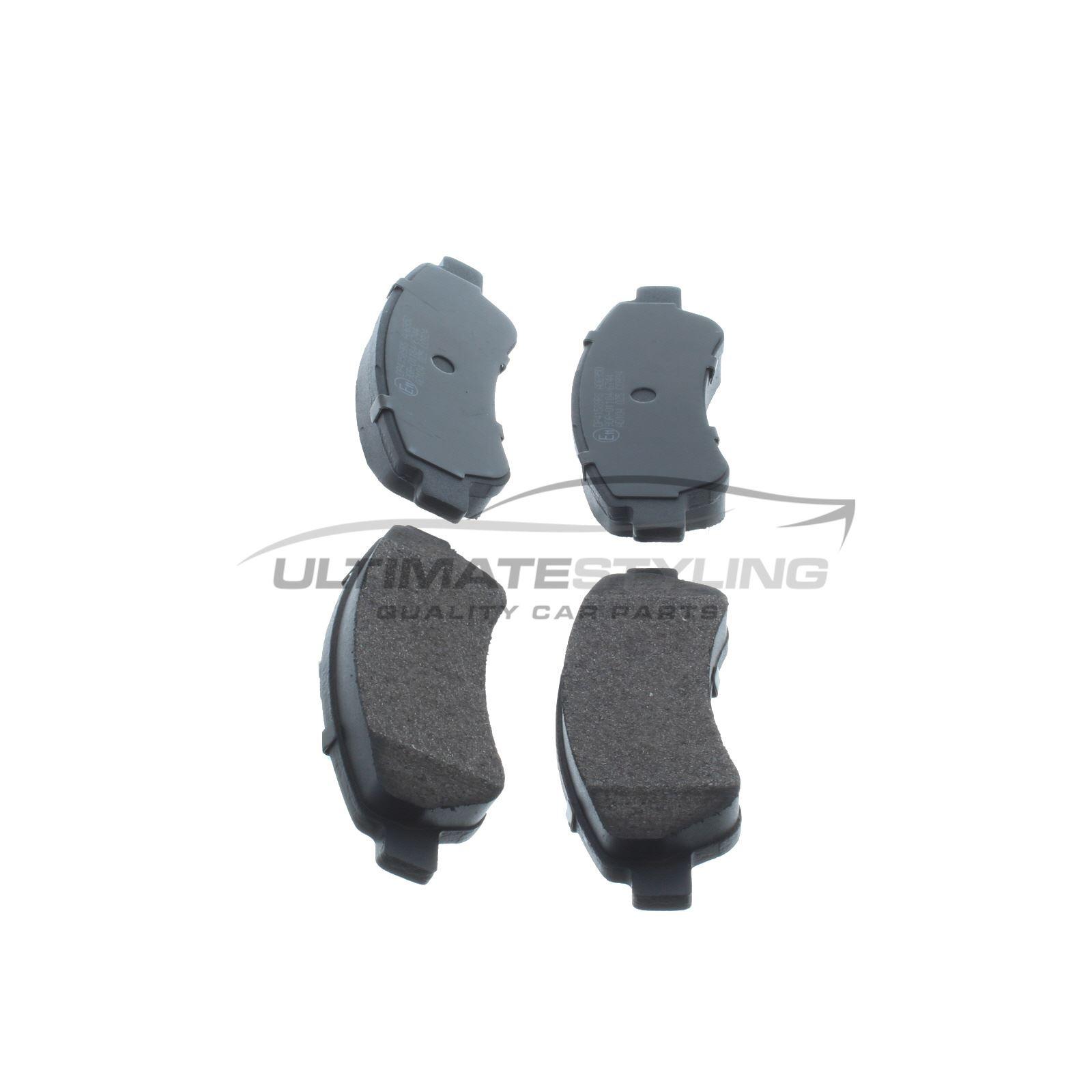 Citroen Relay 250 MPV 2009-2011 2.2 Rear Brake Pads Kit W137-H49-T18.8