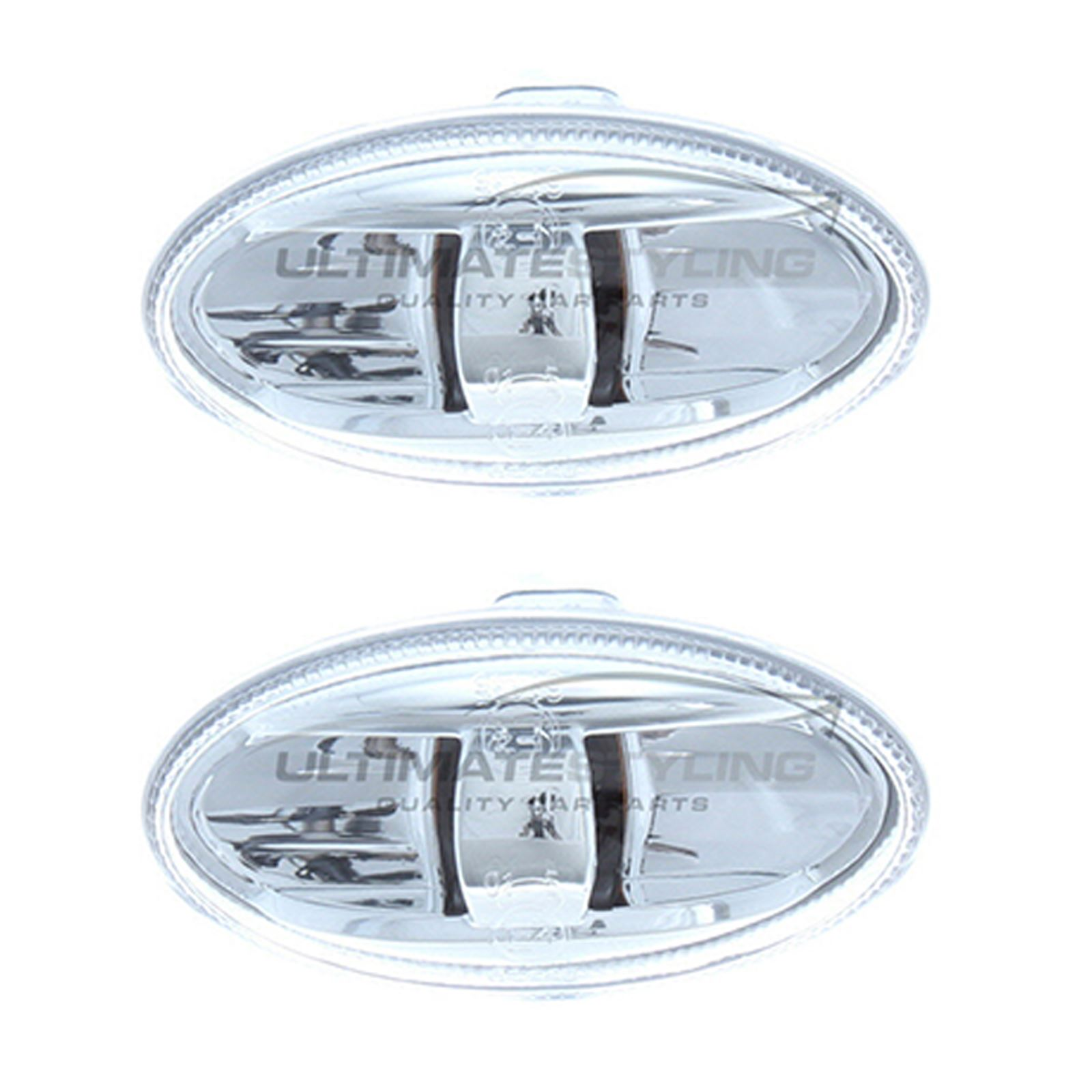 VW Lupo 1999-2005 Crystal Clear Side Indicator Repeaters Pair Left /& Right