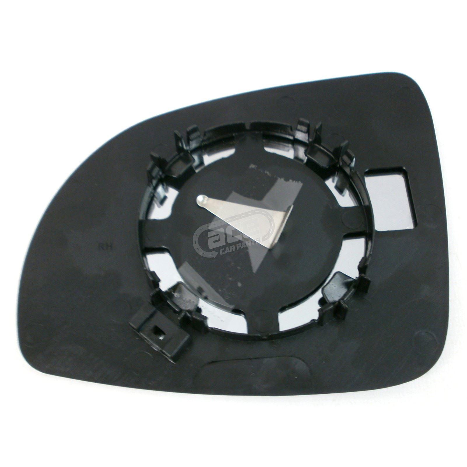 Kia Picanto Hatchback 7//2007-9//2011 Non-Heated Convex Mirror Glass Drivers Side