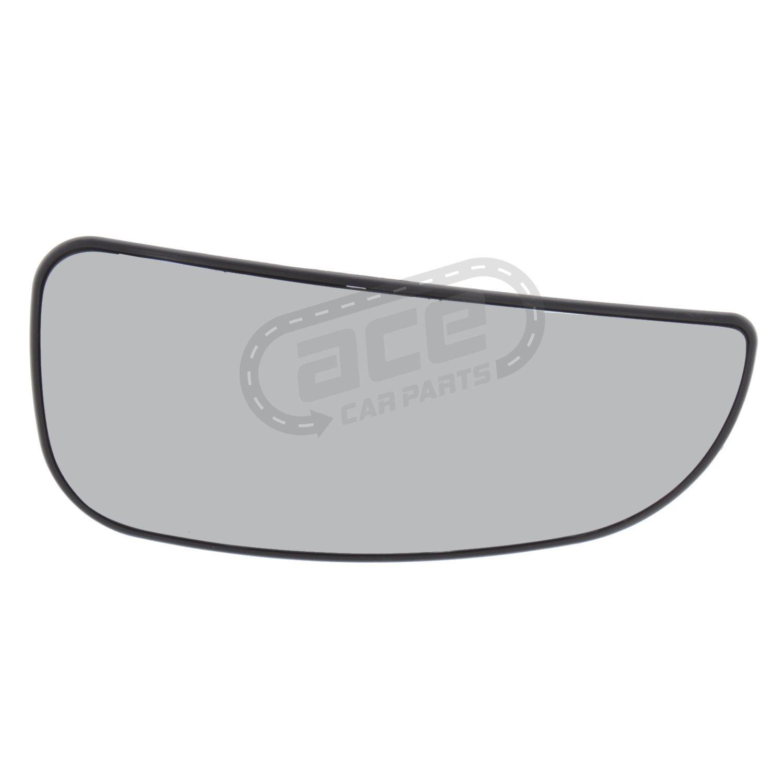 Fiat Ducato Mk4 Van 2006-9//2014 Heated Convex Upper Mirror Glass Drivers Side