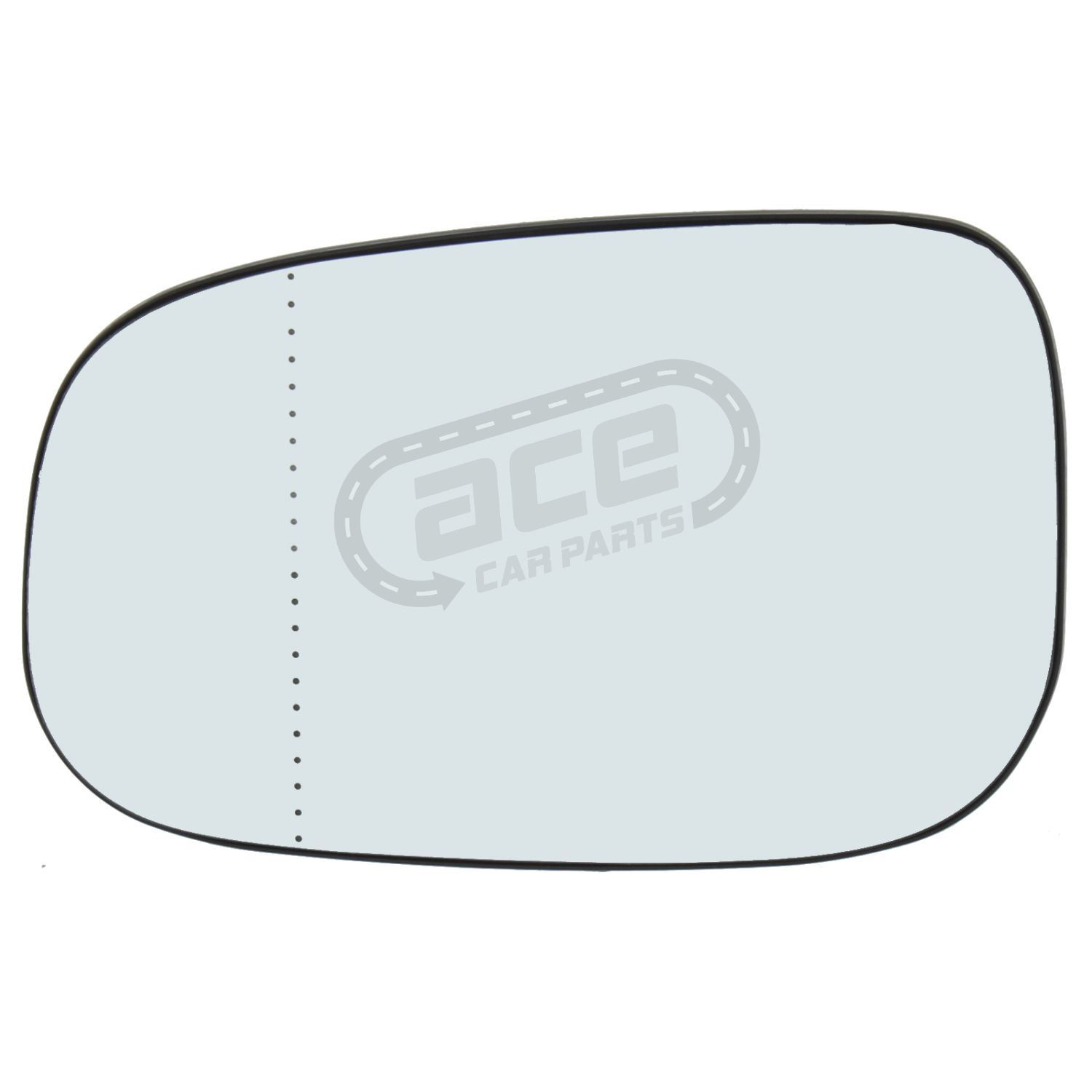 Volvo S60 Mk1 Saloon 2006-9//2010 Heated Aspherical Mirror Glass Passenger Side