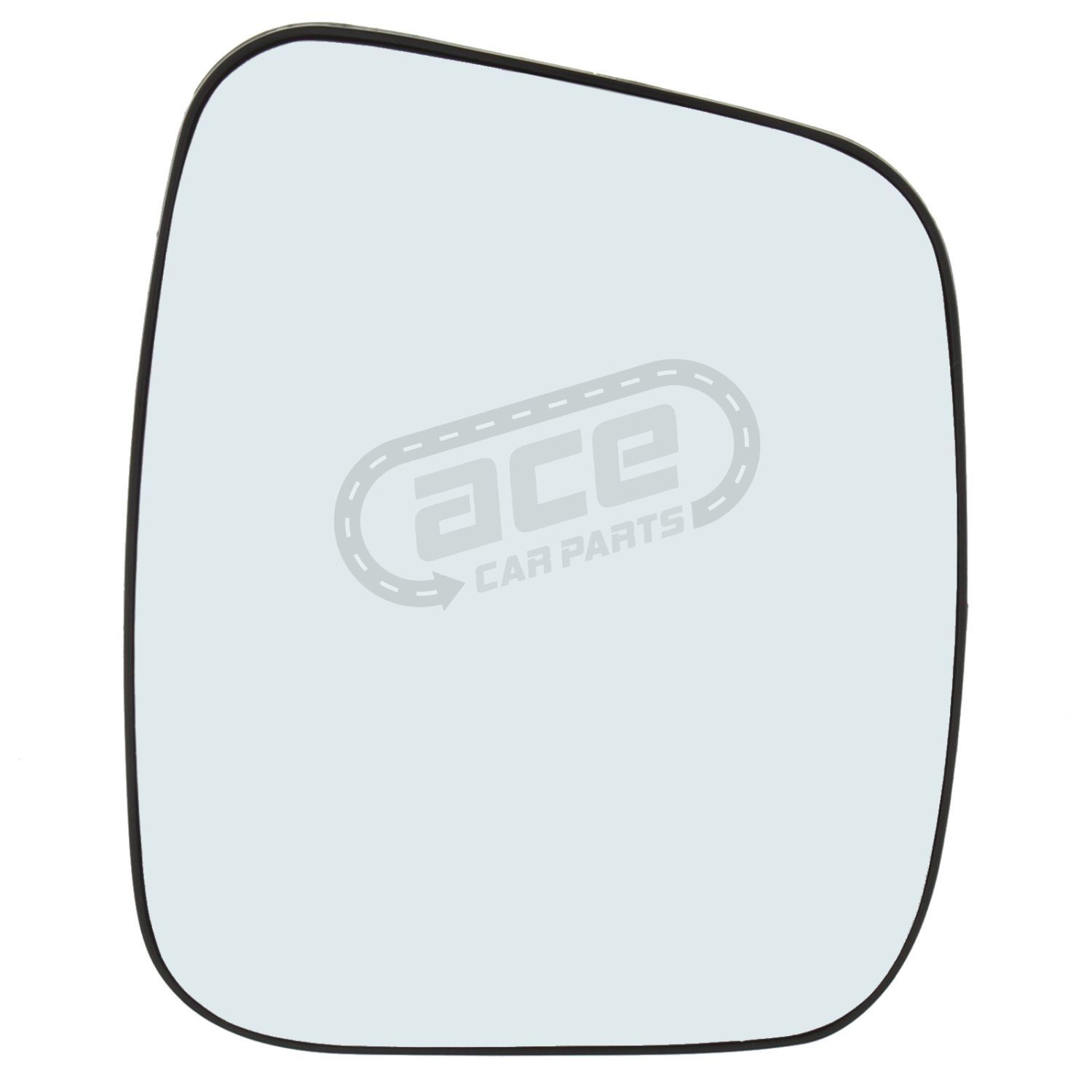 Fiat 500 Hatchback 2008-/> Heated Convex Wing Mirror Glass Drivers Side O//S