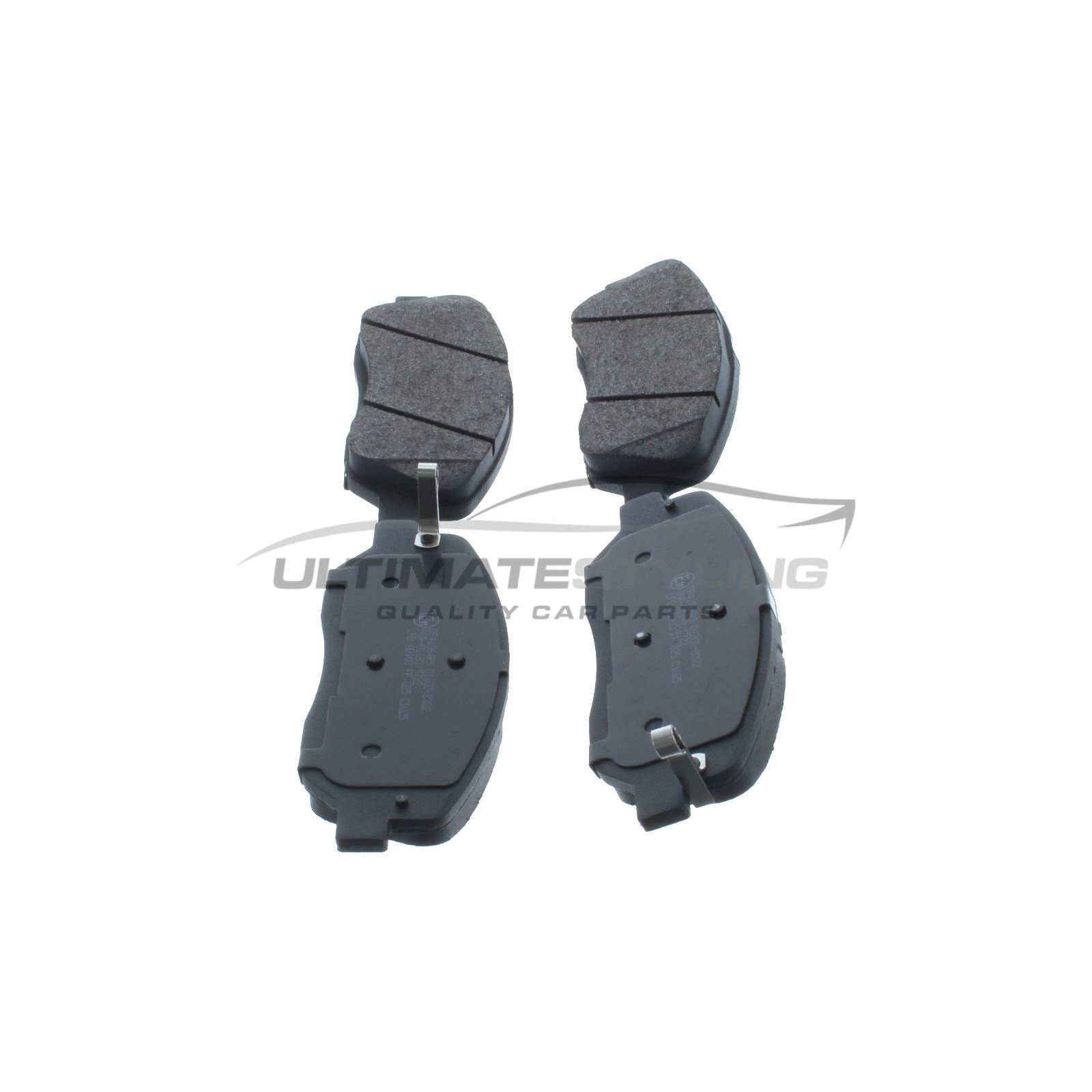 FRONT AND REAR PADS FOR SSANGYONG KORANDO 2.0 8//2011