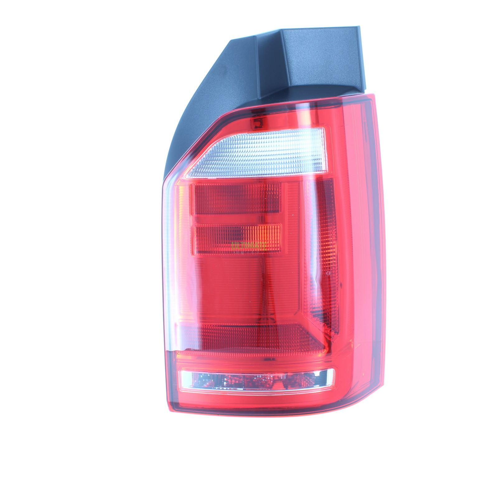 VW Transporter T5 Van 1//2010-2015 Tailgate Rear Tail Light Lamp Red /& Smoked N//S