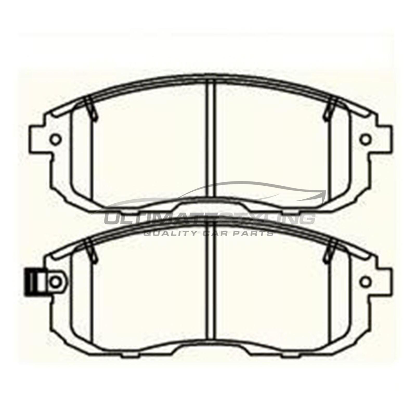 For Nissan Pulsar C13 Hatchback 2014-/> 1.2 1.5 1.6 Front Brake Pads W137-H53-T17