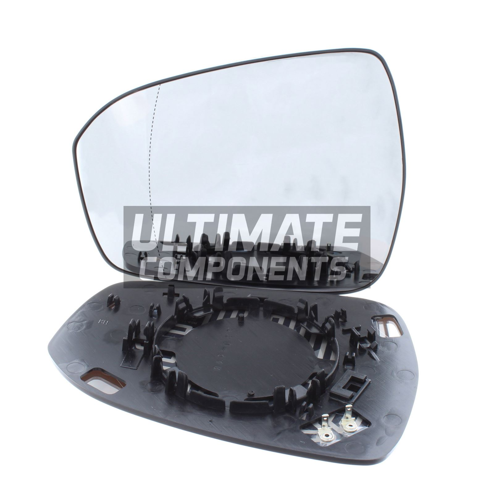 Ford Mondeo Mk5 2014-/> Wing Mirror Glass Heated N//S Passenger Left