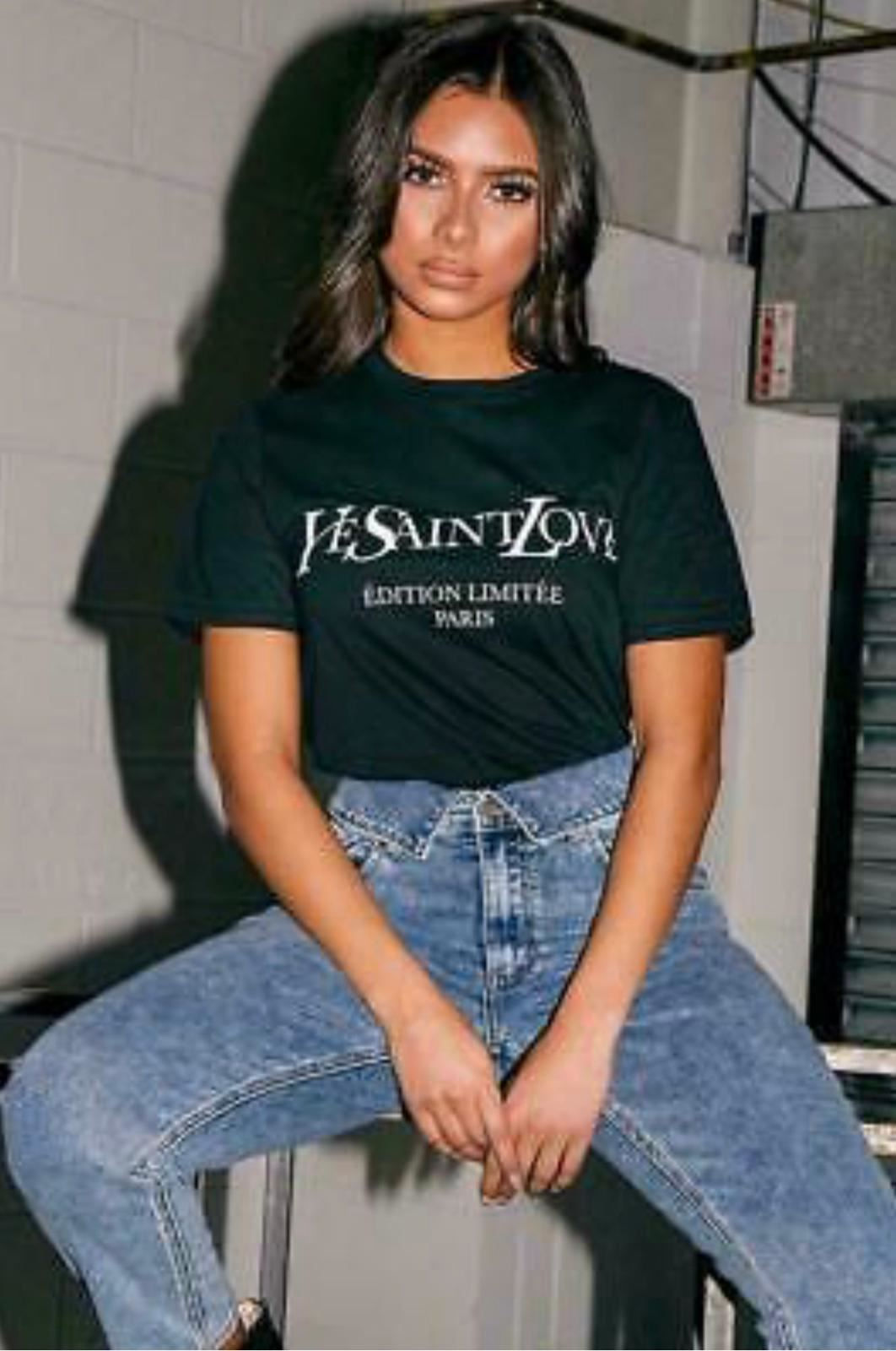 thumbnail 23 - Womens OH HONEY Slogan Fashion T-Shirt Ladies Casual Summer Short Sleeve Tops