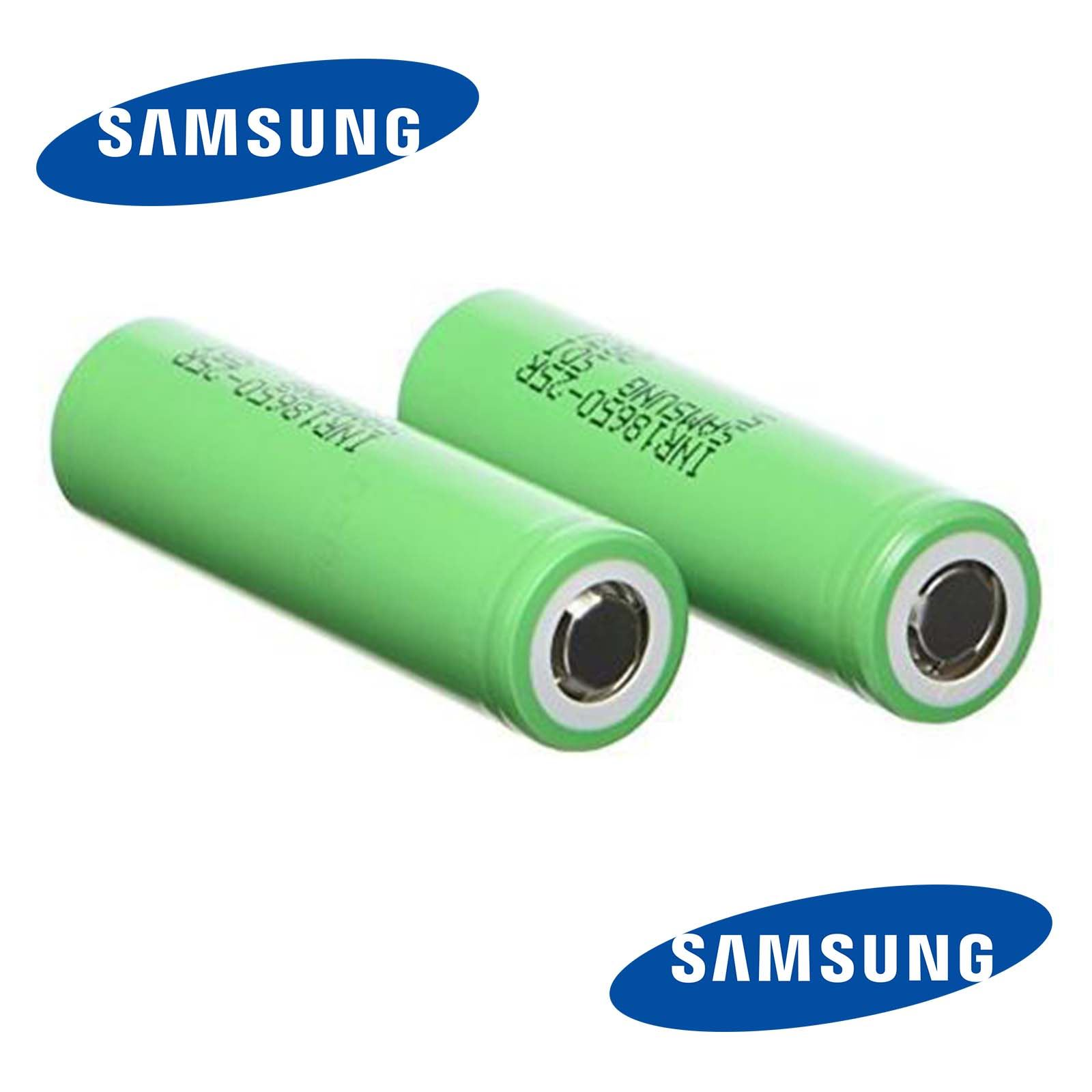 100-Authentic-Samsung-25R-2500mAh-INR-18650-3-7V-20A-Rechargeable-Battery-Vape thumbnail 3