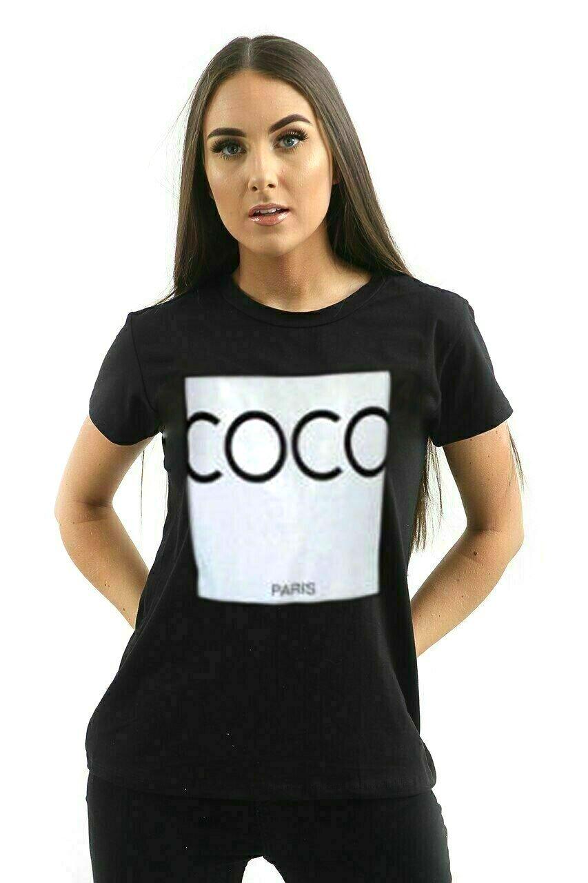 thumbnail 10 - Womens OH HONEY Slogan Fashion T-Shirt Ladies Casual Summer Short Sleeve Tops