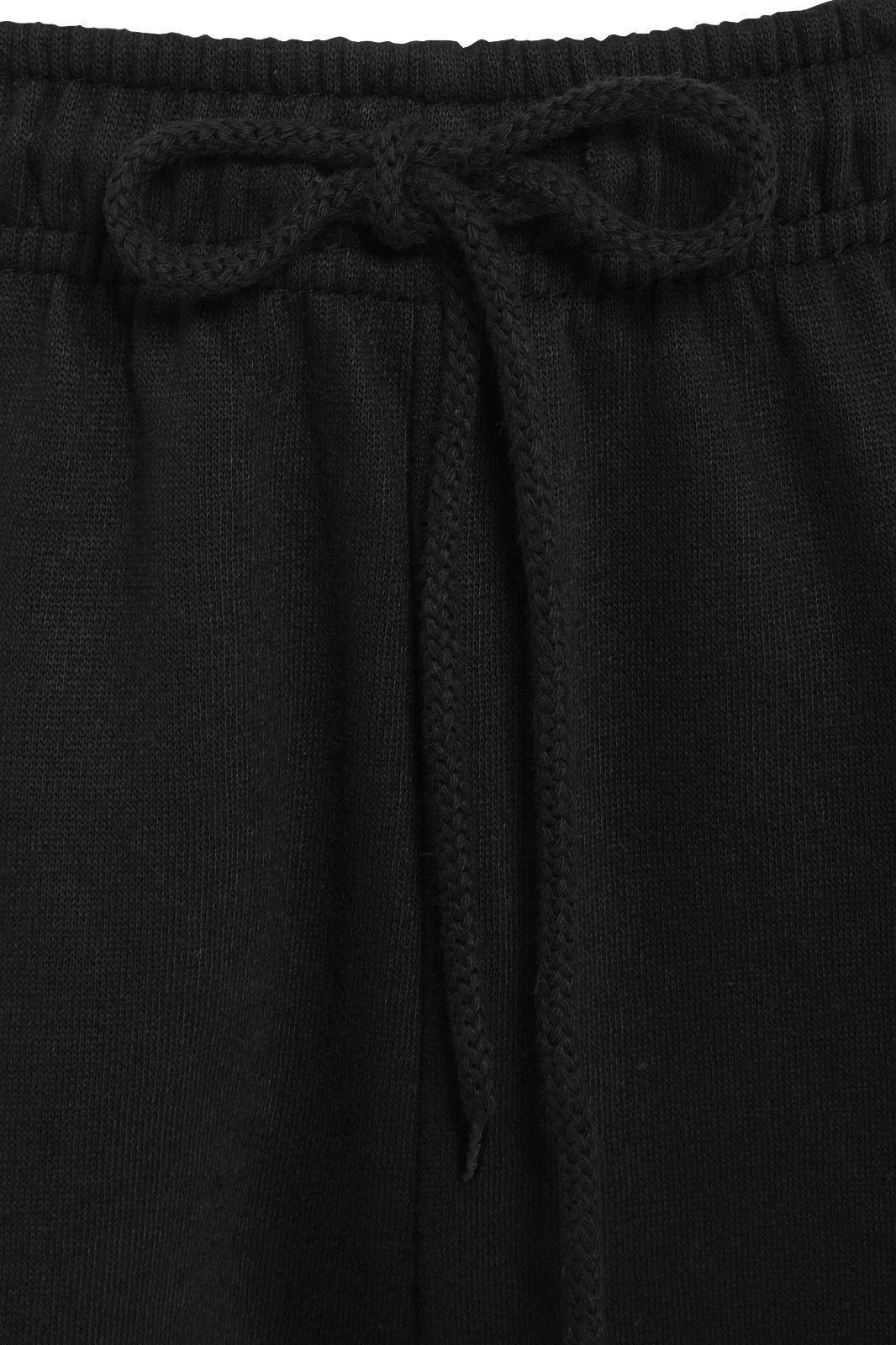 Uomo-Casual-Tinta-Unita-Pantaloni-sportivi-Bottoms-Apri-Hem-Sudore-Pantaloni-Tasche-Con-Zip miniatura 3