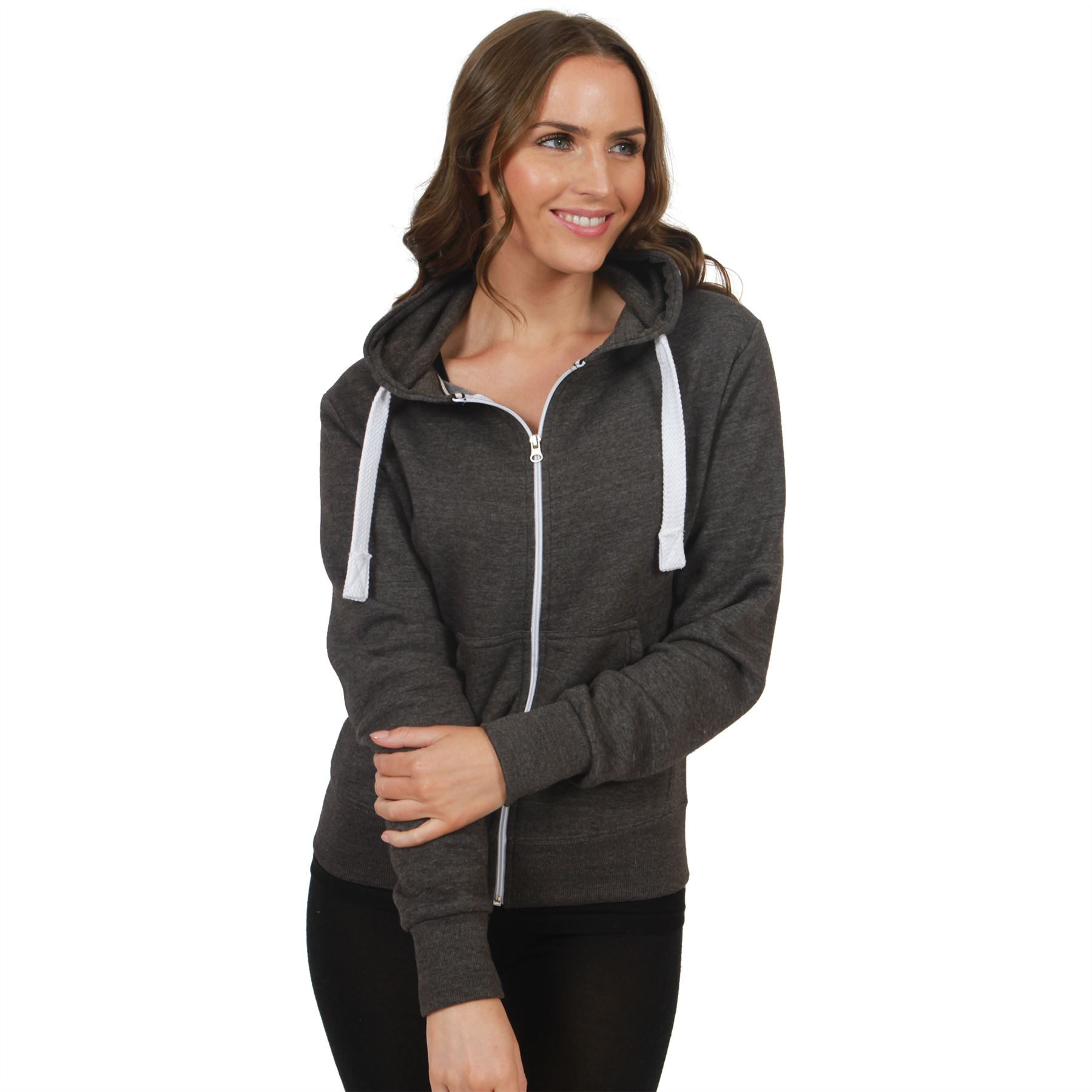 Womens zippered hoodies