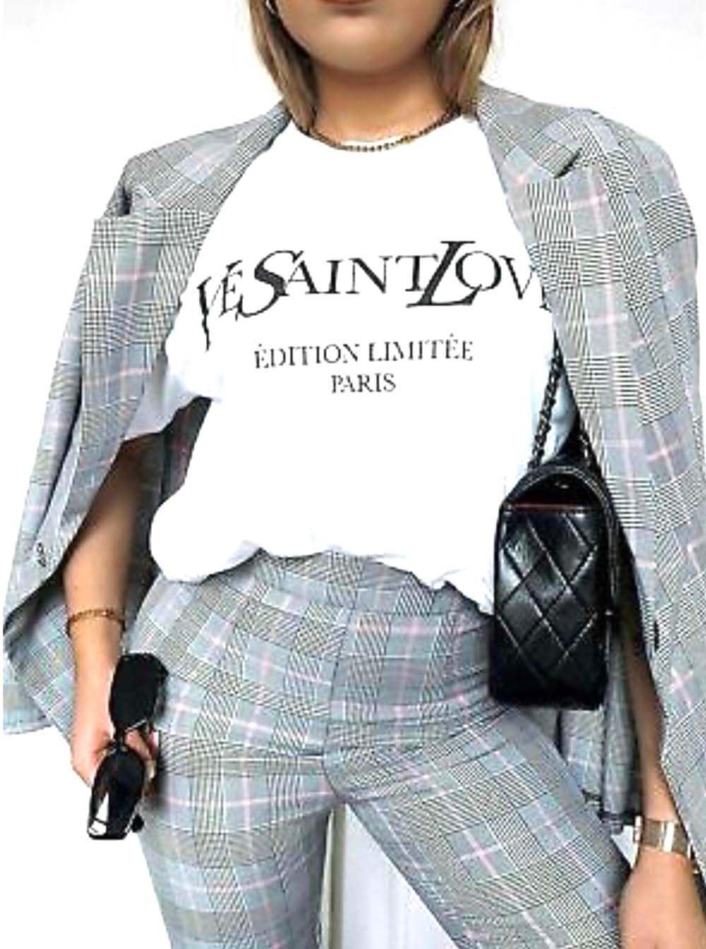 thumbnail 30 - Womens OH HONEY Slogan Fashion T-Shirt Ladies Casual Summer Short Sleeve Tops