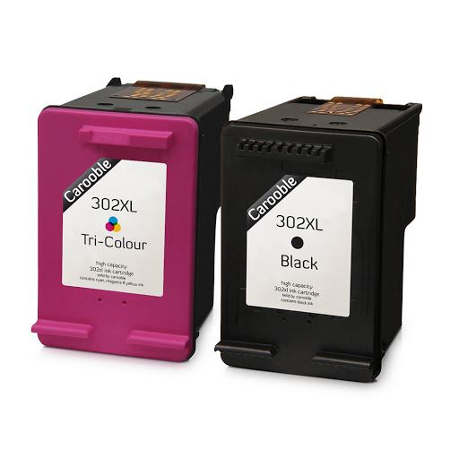 hp 302 xl ink cartridges combo black colour for hp deskjet 3632 ebay. Black Bedroom Furniture Sets. Home Design Ideas