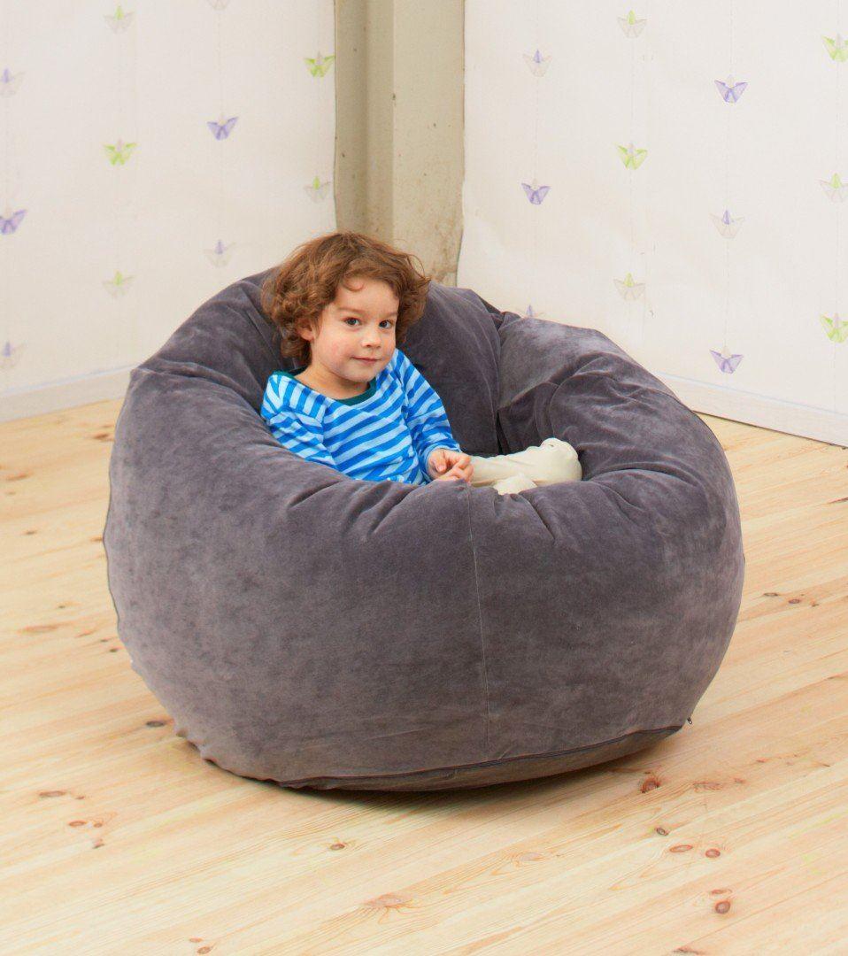 gros coussin pouf billes de polypropyl ne epp housse. Black Bedroom Furniture Sets. Home Design Ideas