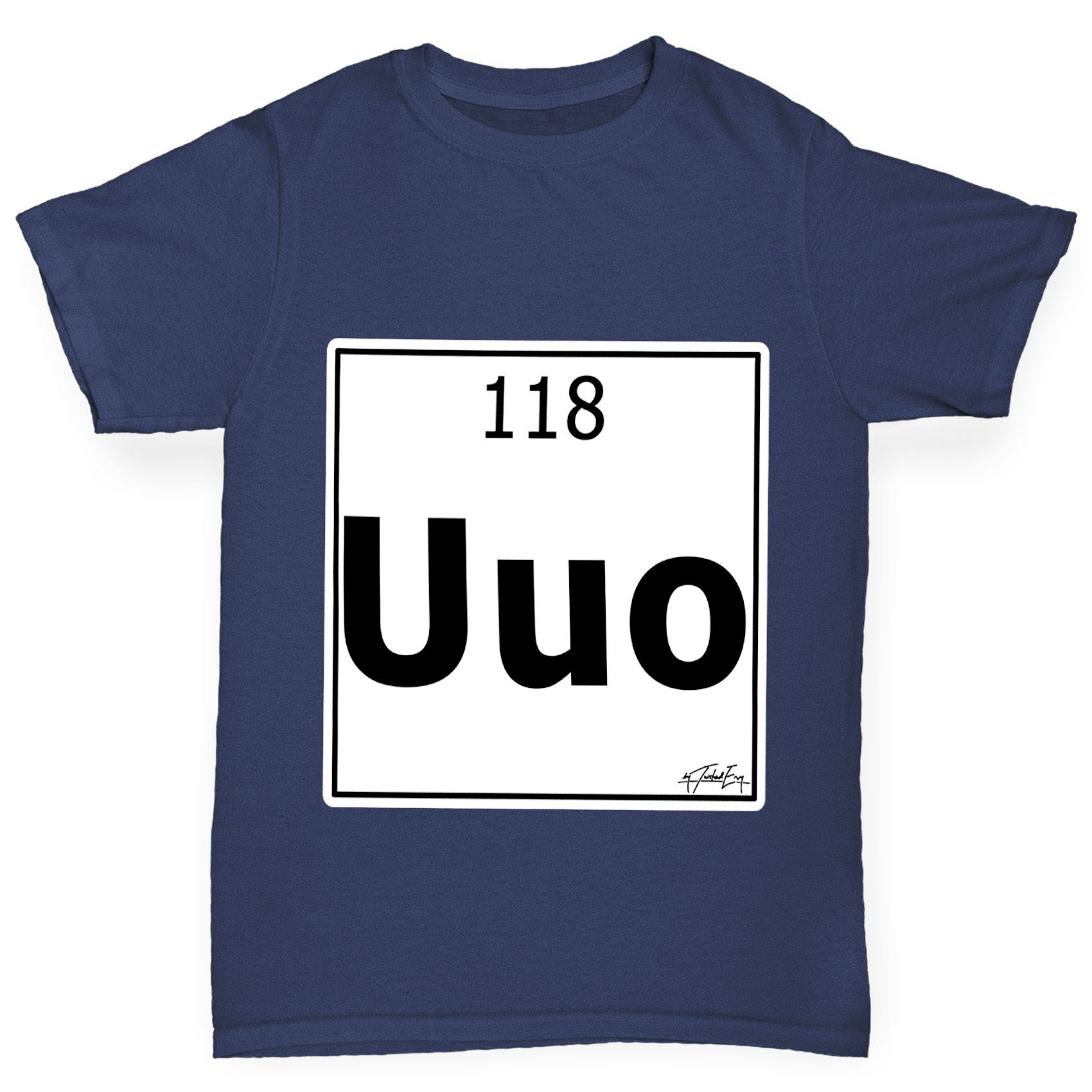 Twisted envy boys periodic table element uuo ununoctium t shirt ebay twisted envy boy 039 s periodic table element urtaz