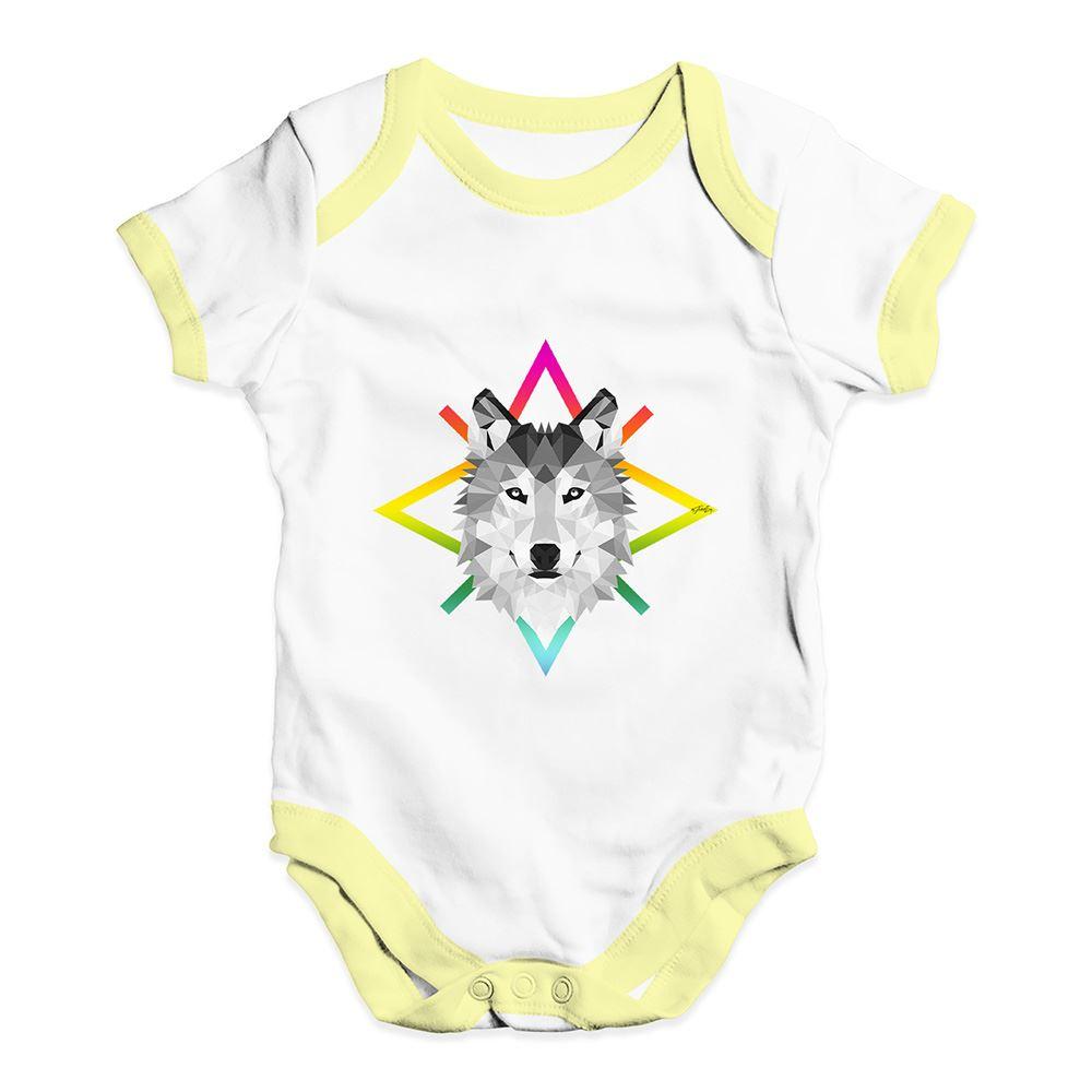 Twisted Envy Geometric Rabbit Baby Unisex Funny Baby Grow Bodysuit