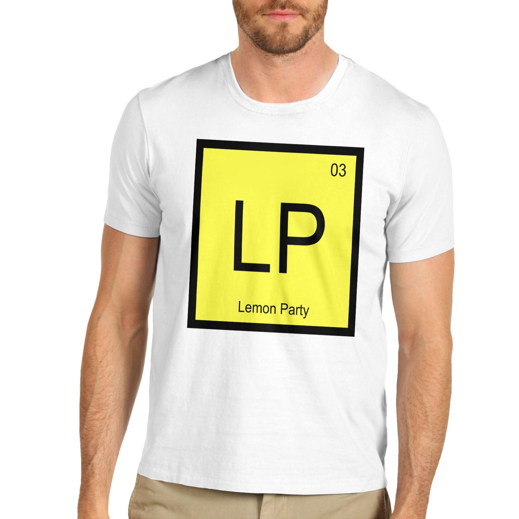 Mens lp periodic table element lemon party funny t shirt ebay men 039 s lp periodic table element lemon urtaz Choice Image