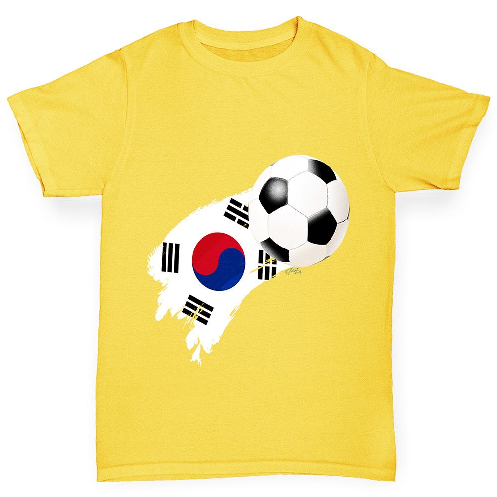 TWISTED ENVY Kids Funny Tshirts Football Soccer Silhouette Japan