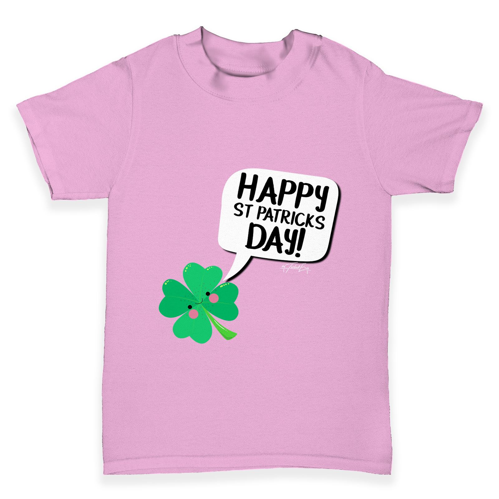 Twisted Envy St Patrick/'s Day Clover 2017 Baby Toddler Funny T-Shirt
