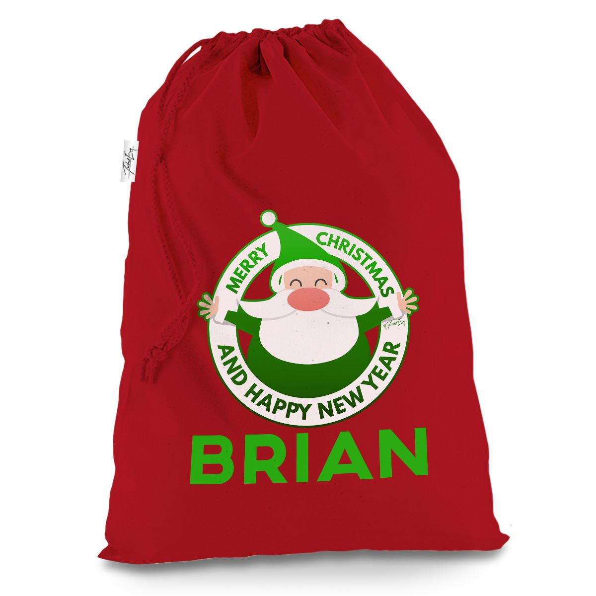 Christmas Large Red Santa Clause Sack Gifts Bag Childrens Xmas Eve