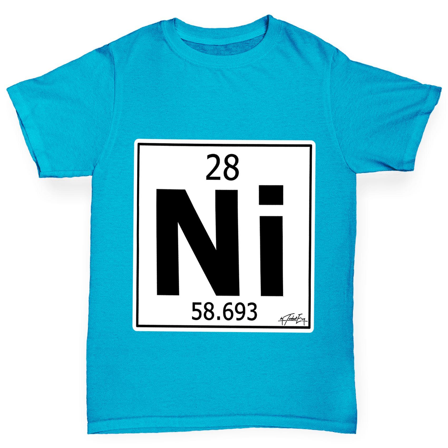 Twisted envy boys periodic table element ni nickel t shirt ebay twisted envy boy 039 s periodic table element urtaz Choice Image