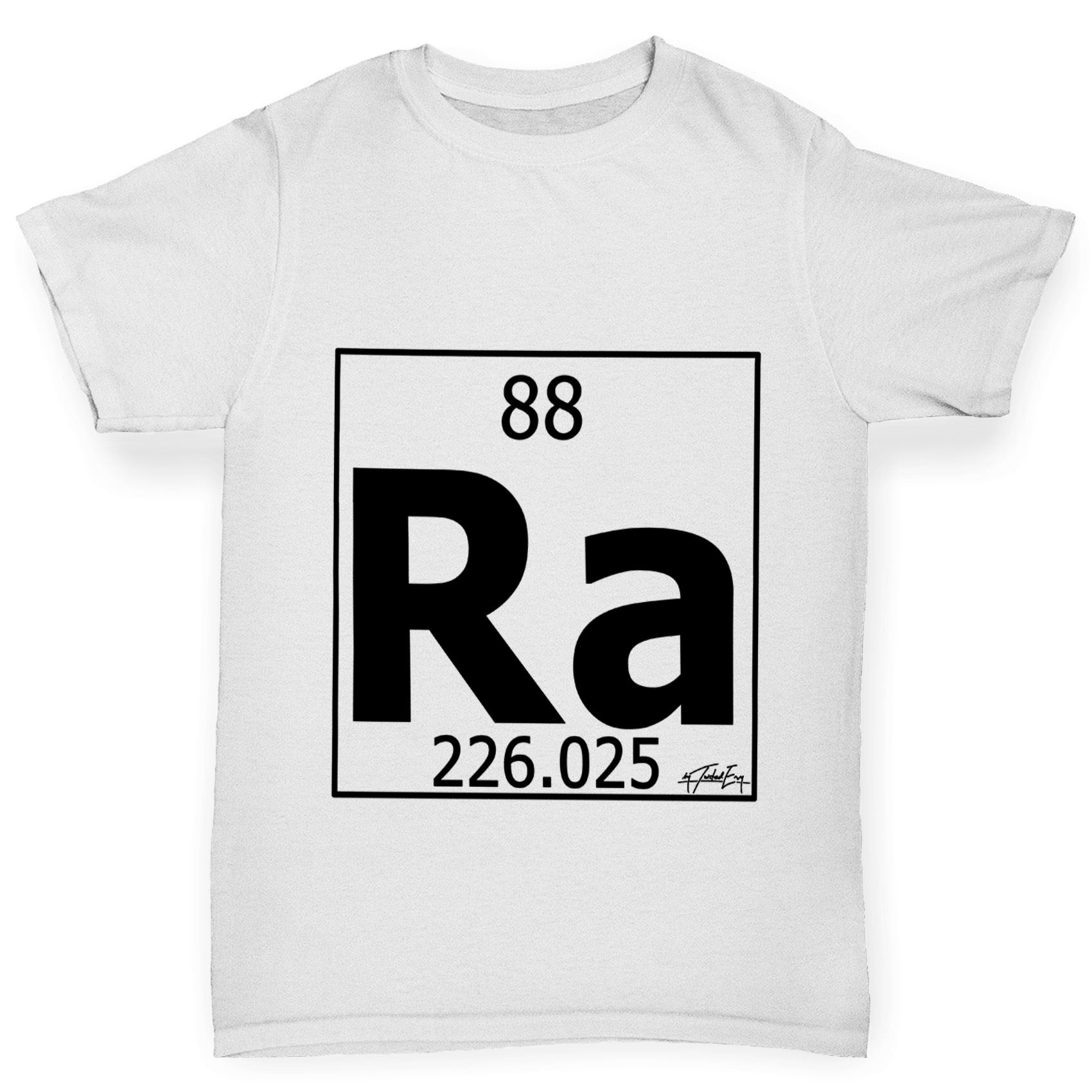 Twisted envy boys periodic table element ra radium t shirt ebay twisted envy boy 039 s periodic table element gamestrikefo Images