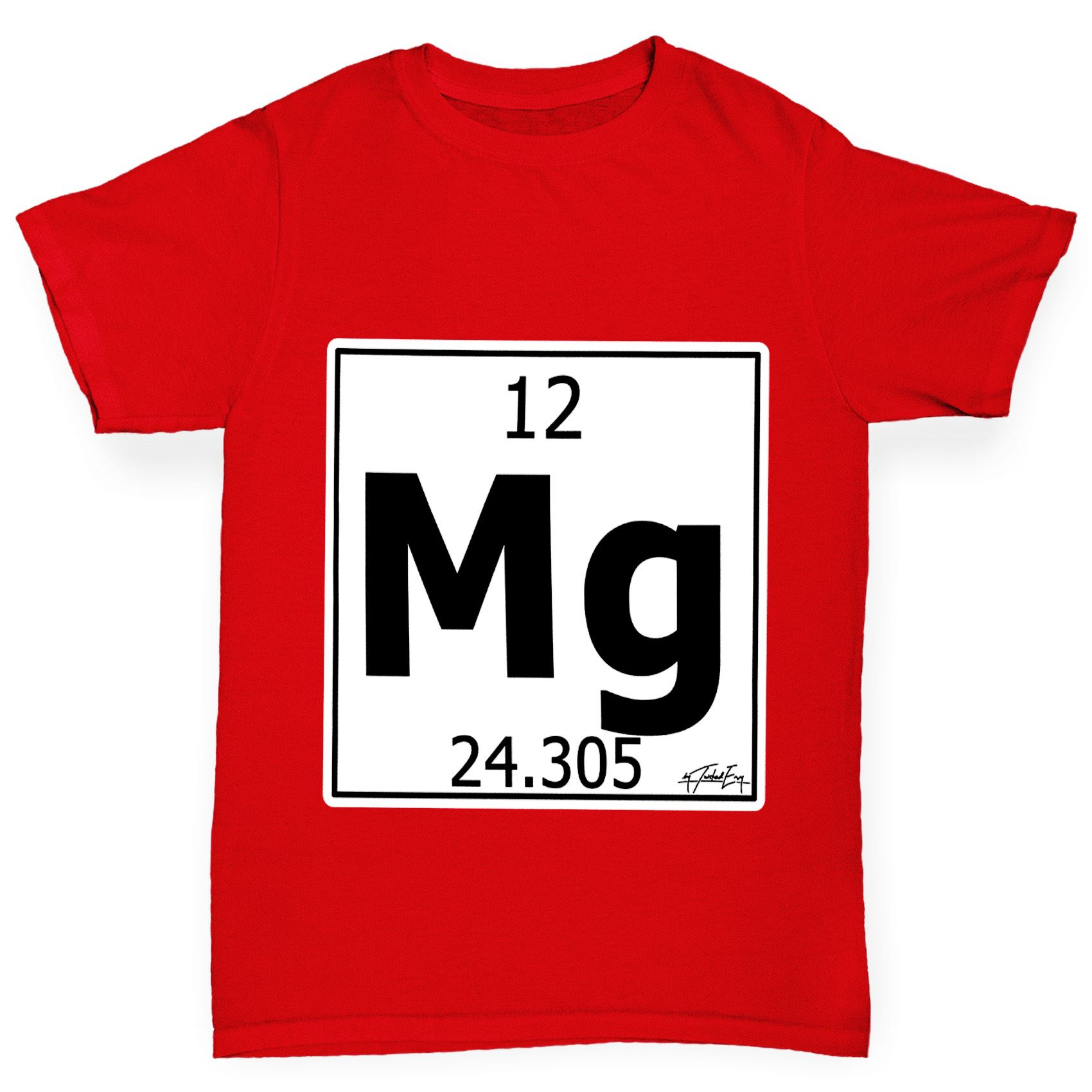 Twisted envy boys periodic table element mg magnesium t shirt ebay twisted envy boy 039 s periodic table element gamestrikefo Gallery