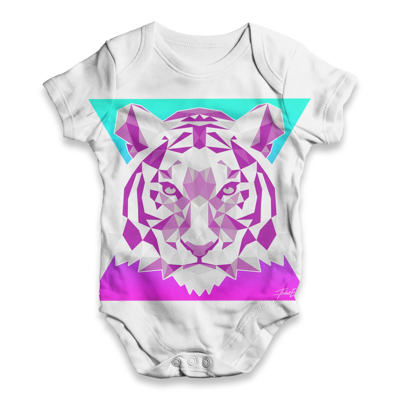 Jinks Galactic Cat Face Baby Toddler Funny ALL-OVER PRINT Baby T-shirt