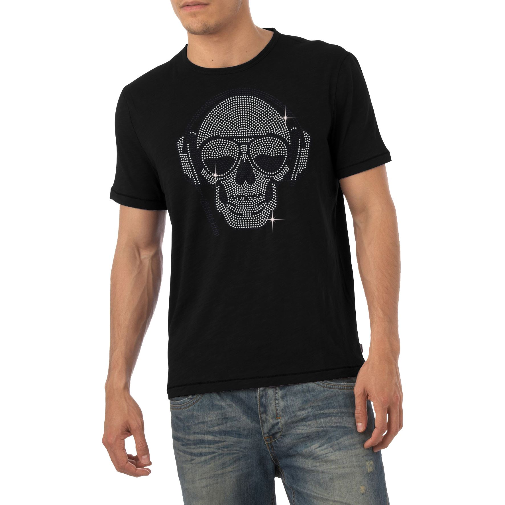 Twisted Envy Boy/'s Just Do It Later Diamante T-Shirt