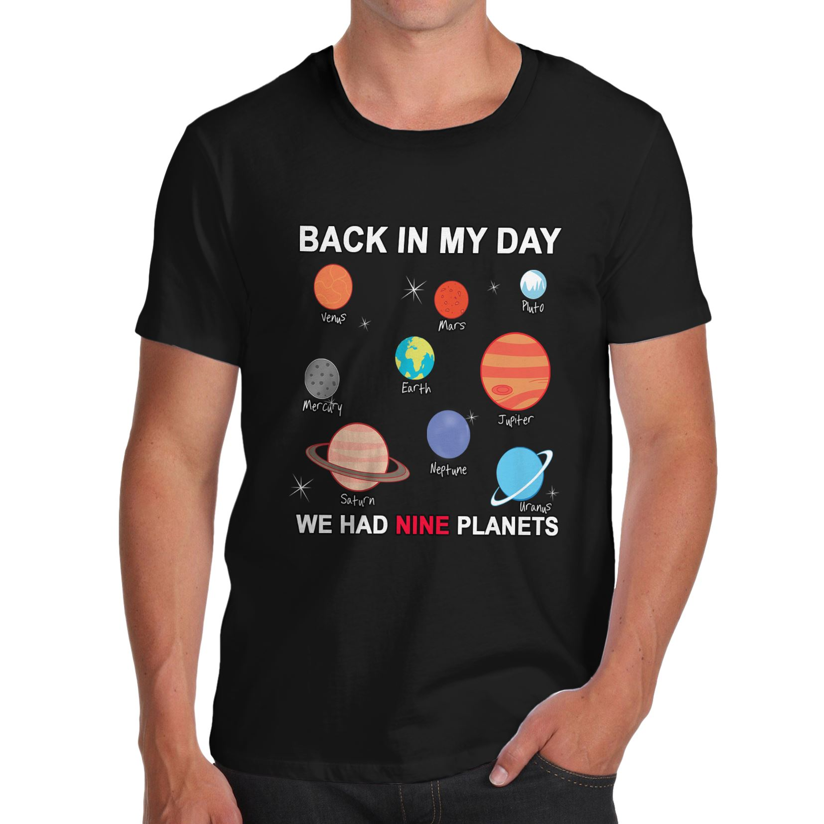 Back in black t shirt - Men 039 S Back In My Day We