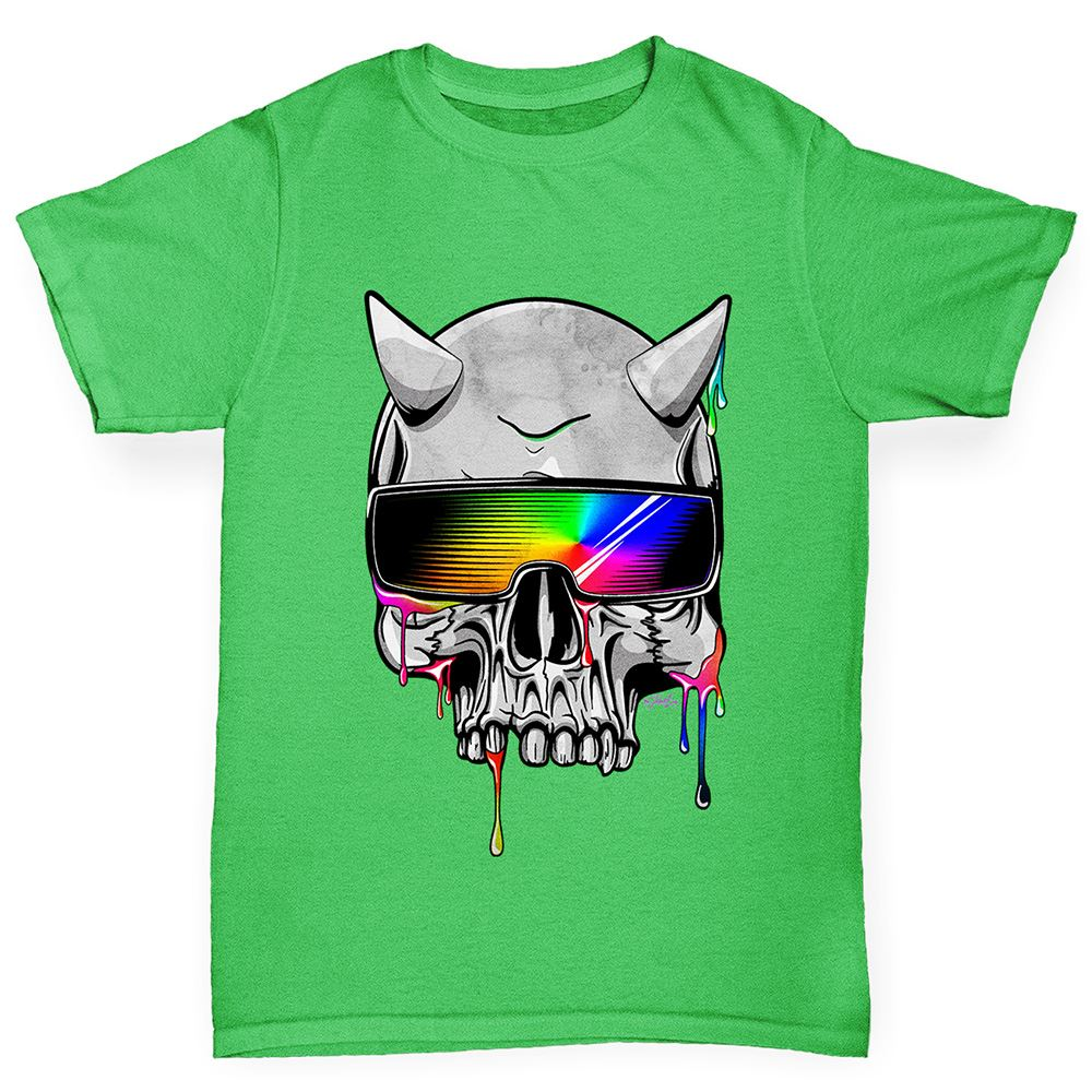 Twisted Envy Skull Butterfly Boy/'s Funny T-Shirt
