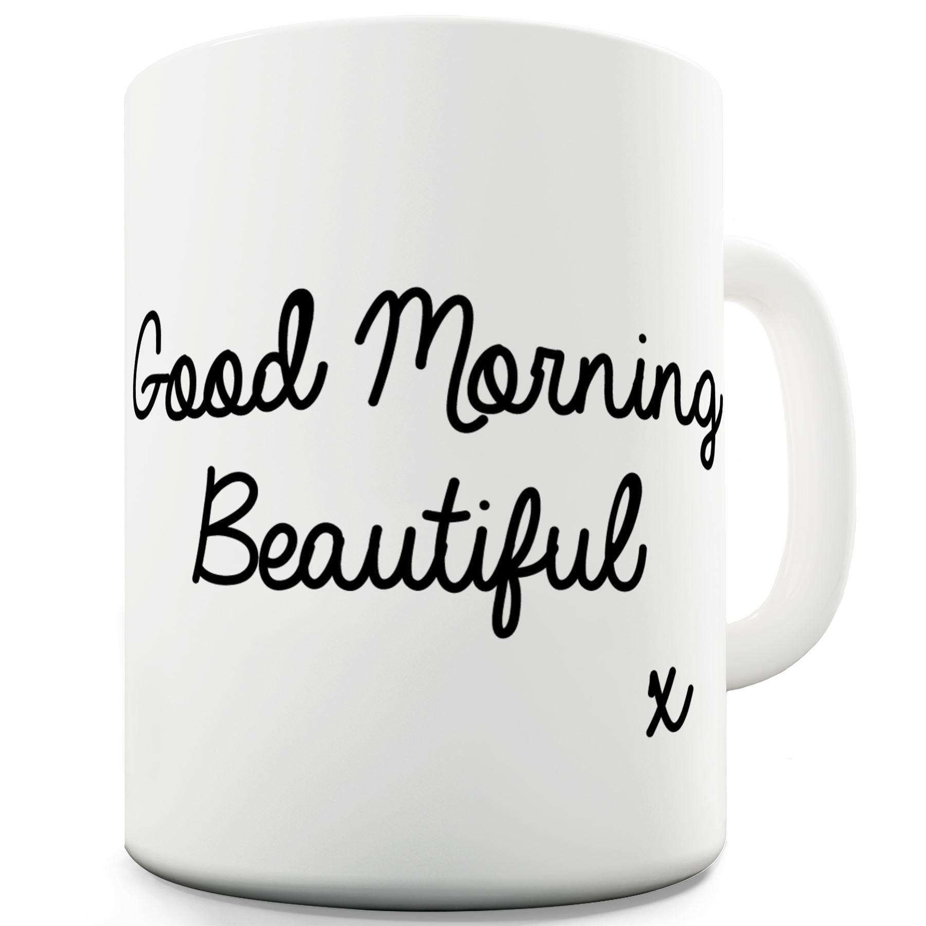 "Bengal ceramic cup mug /""Good morning and love/"",UK"