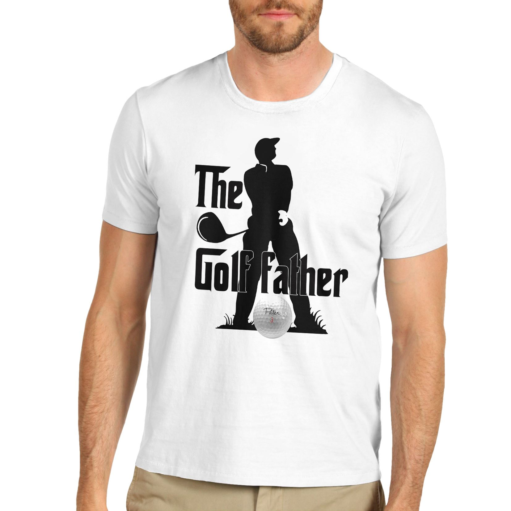 e4f9f3ca Men's The Golf Father Funny Father's Day T-Shirt | eBay
