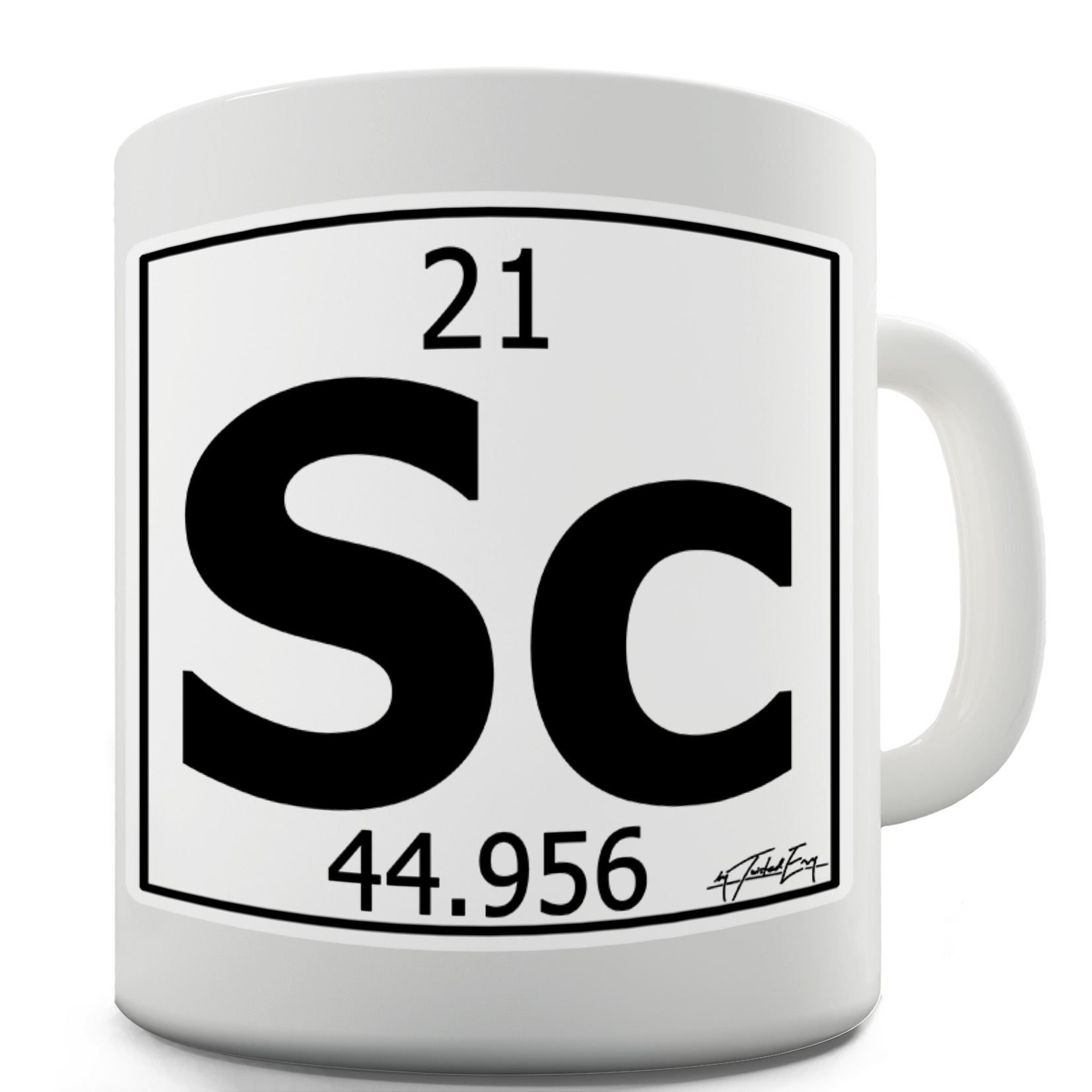 Twisted envy periodic table of elements sc scandium ceramic periodic table of elements sc scandium print a seriously cheeky mug that will definitely stand out funny gift idea a totally unique and hilarious mug that gamestrikefo Images