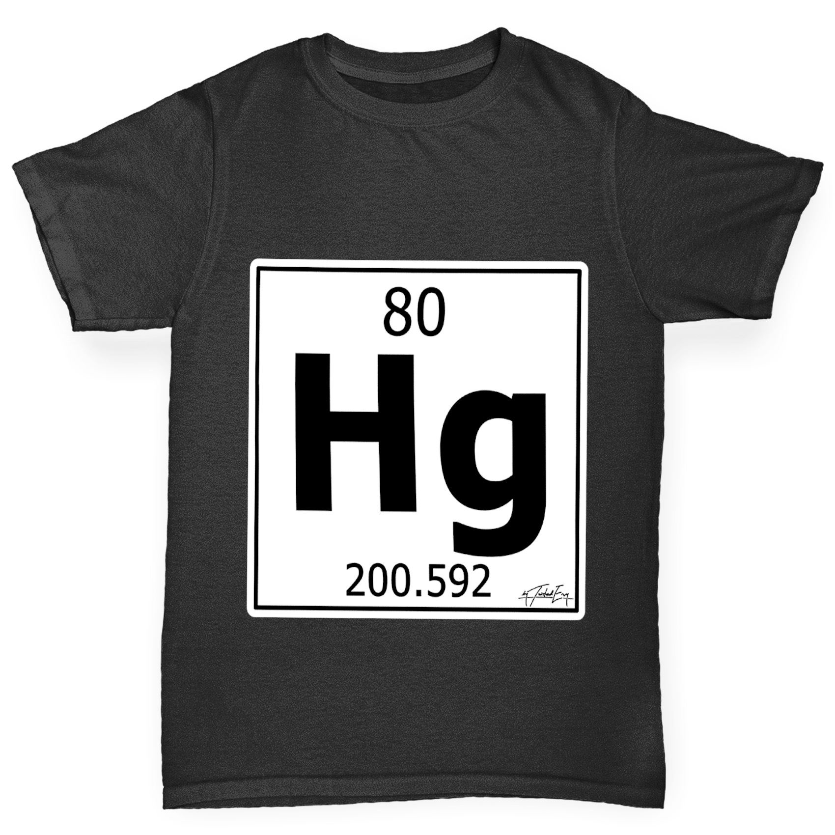 Twisted Envy Boys Periodic Table Element Hg Mercury T Shirt Ebay