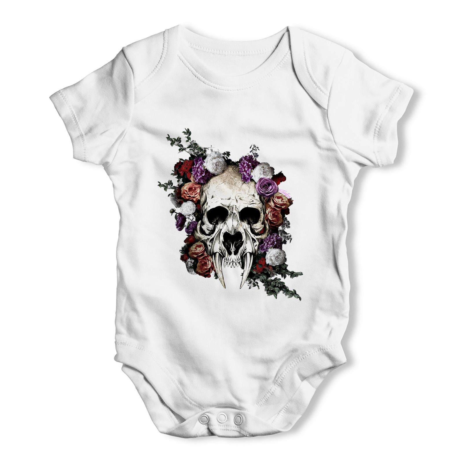Twisted Envy Illuminati Skull Man Baby Toddler Funny ALL-OVER PRINT Baby T-shirt